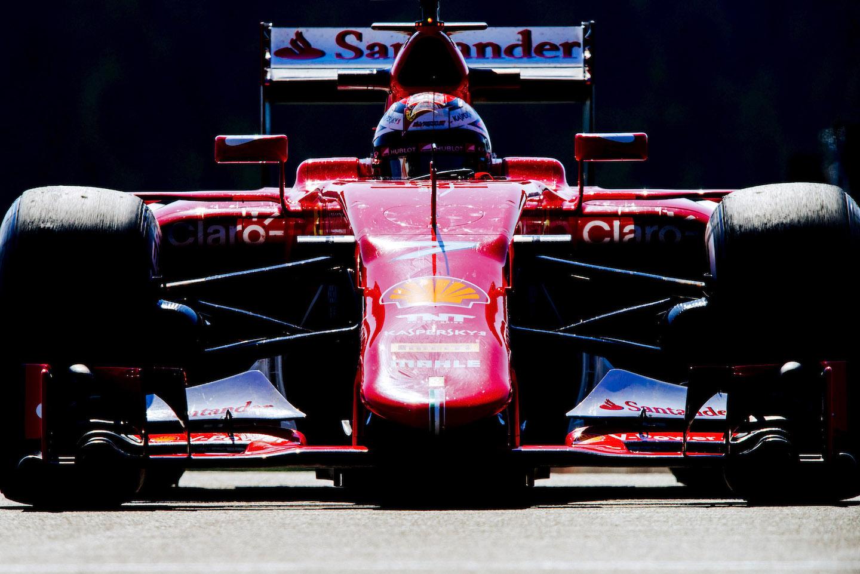 Raikkonen's Ferrari
