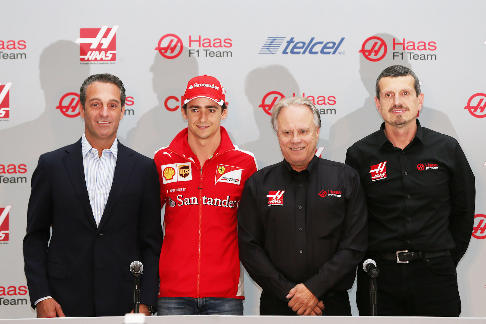 Esteban Gutierrez to Haas F1