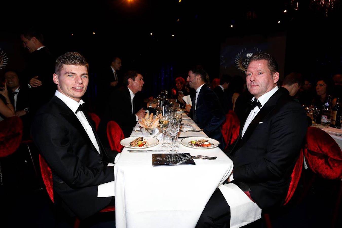 Max and Jos Verstappen at FIA Gala 2015.jpg