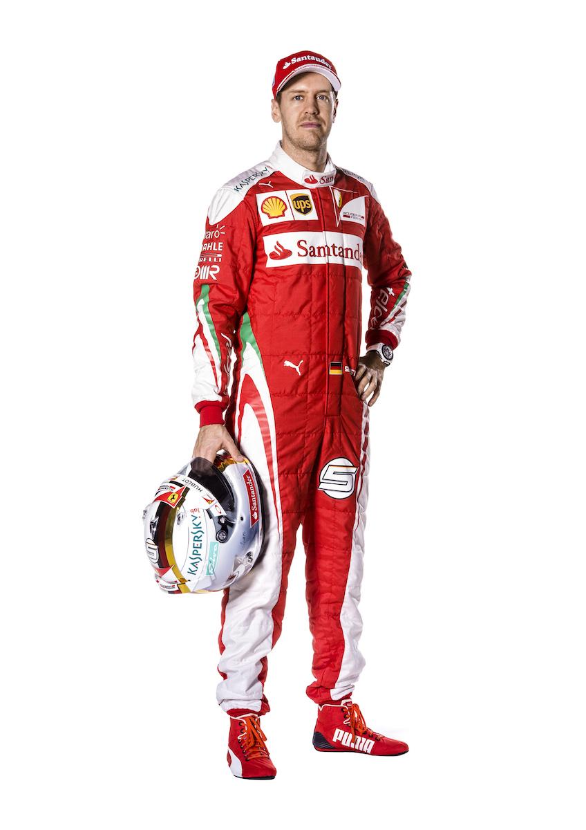 Sebastian Vettel and the SF16-H
