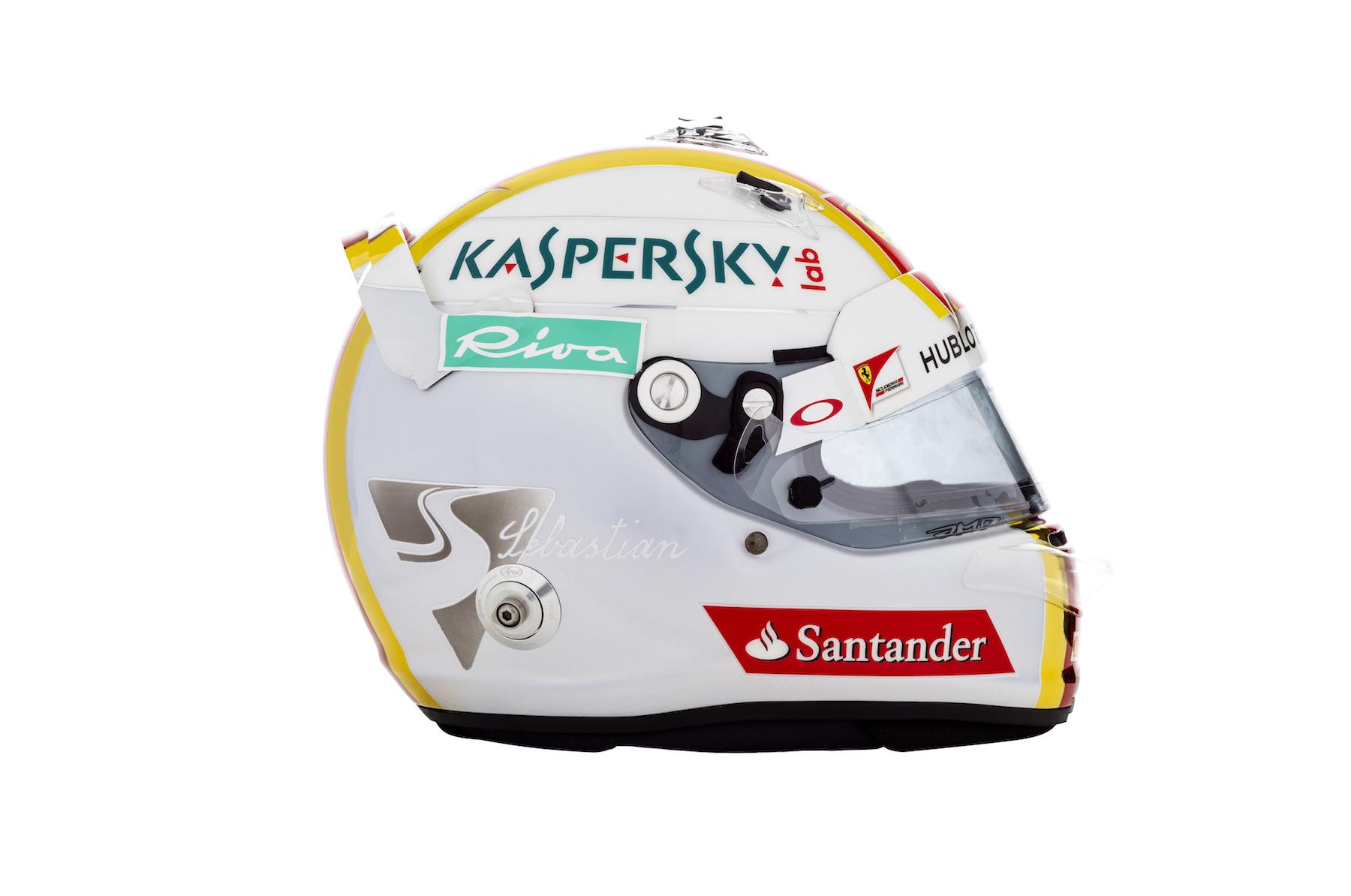 Sebastian Vettel's helmet