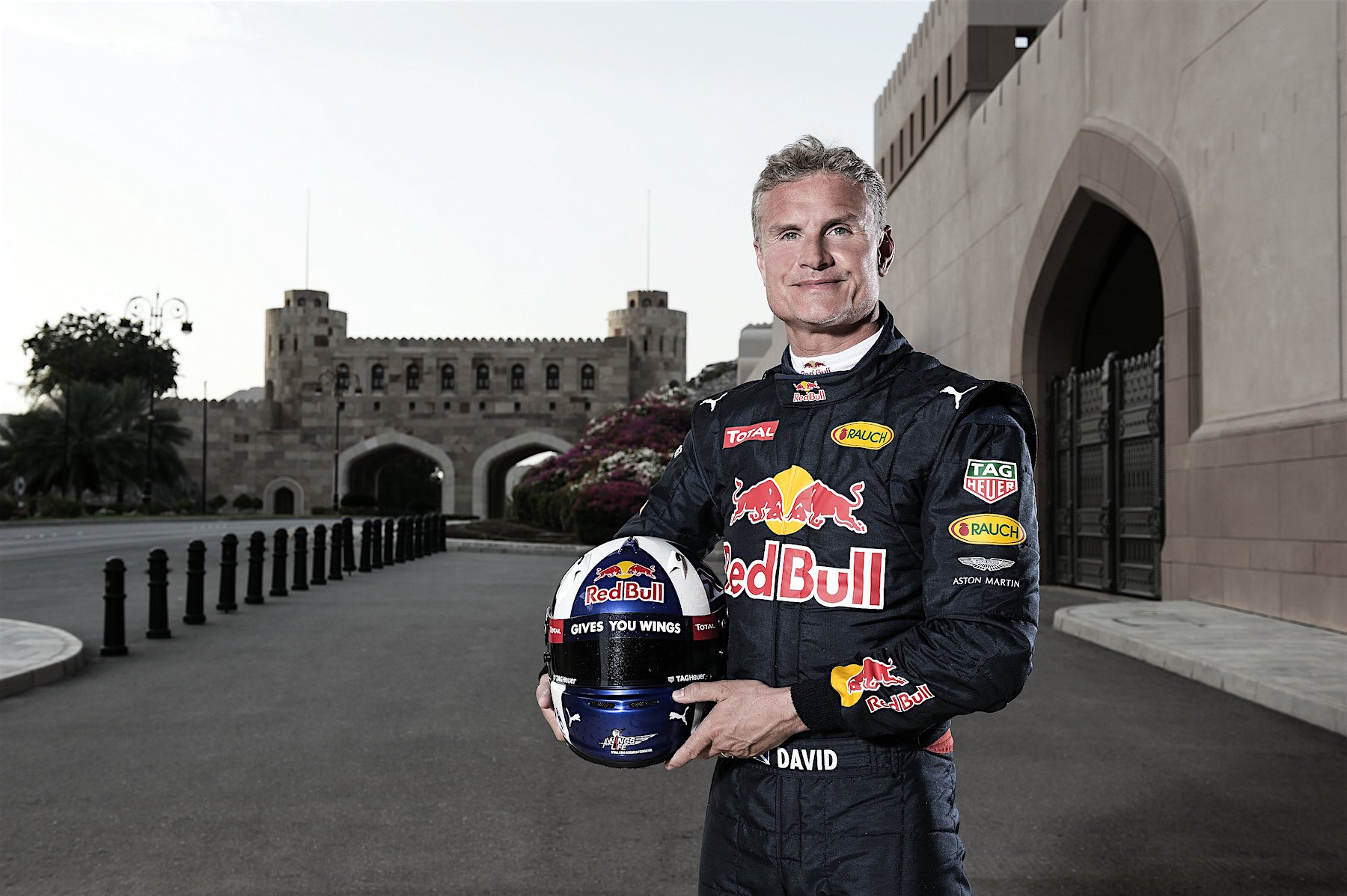 David Coulthard in Oman