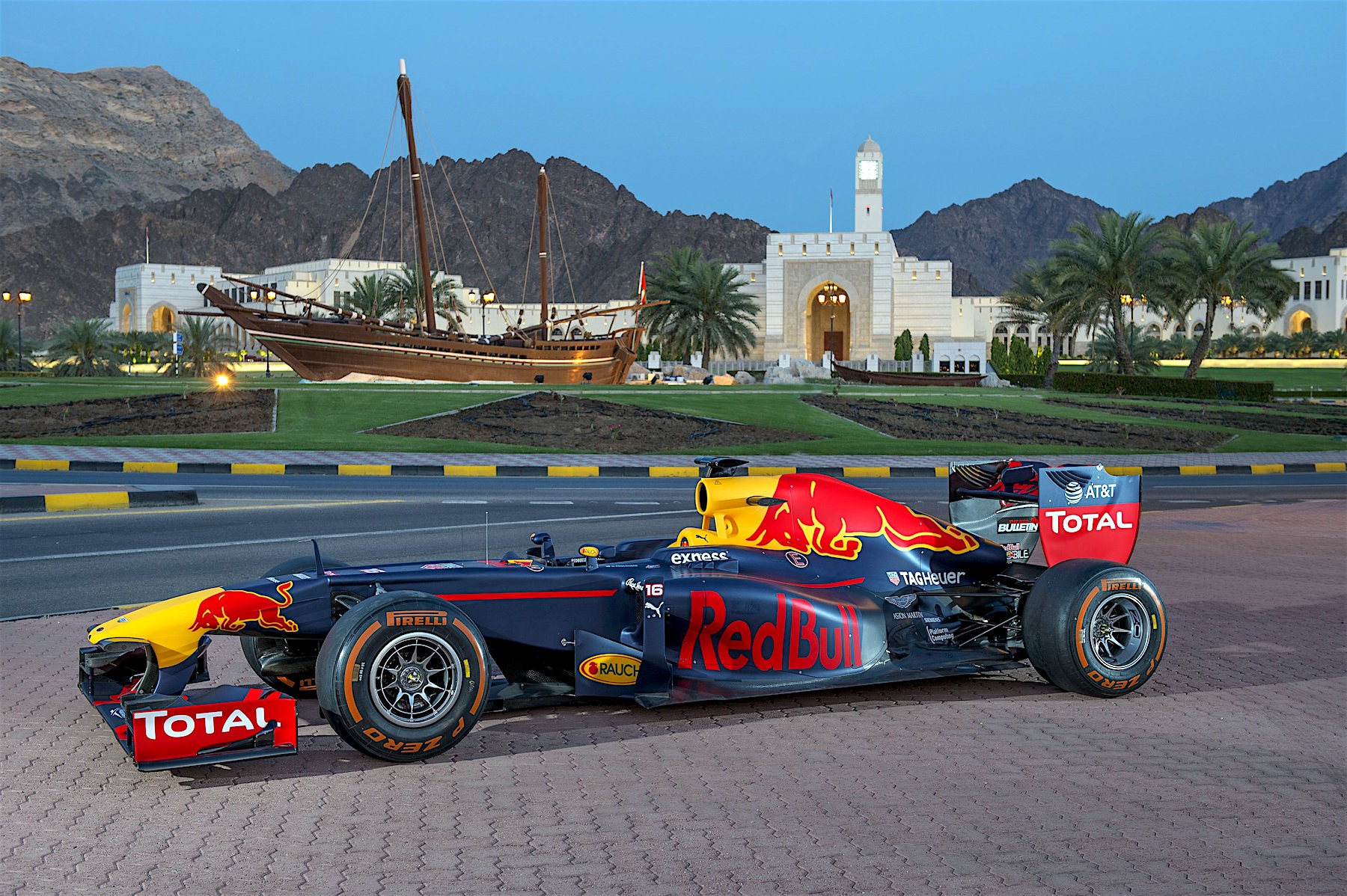 The RB7 in Muscat, Oman