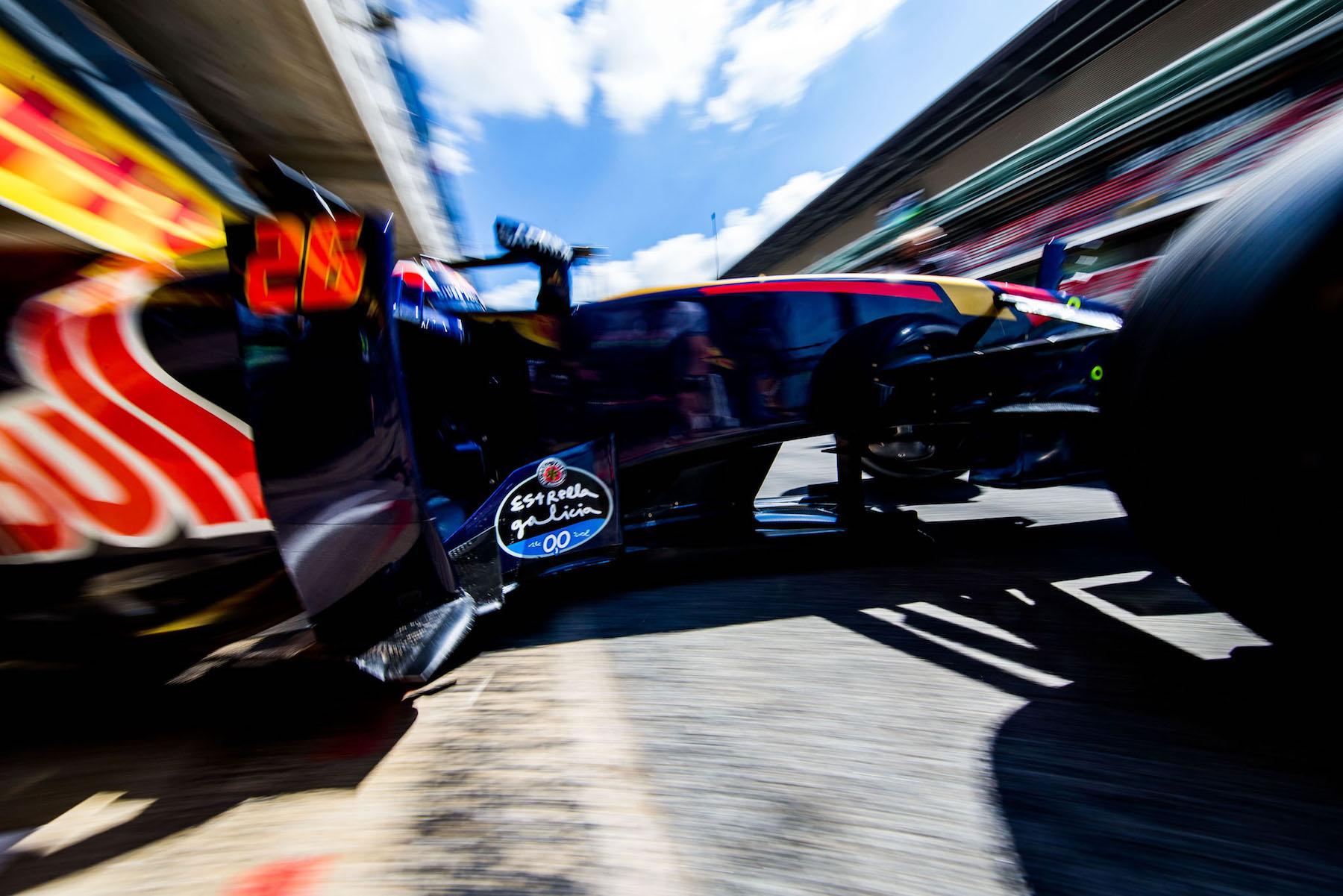 Salracing   Daniil Kvyat   Scuderia Toro Rosso