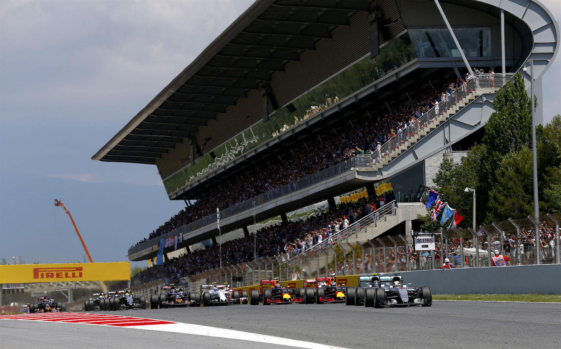 Salracing   2016 Spanish Grand Prix start
