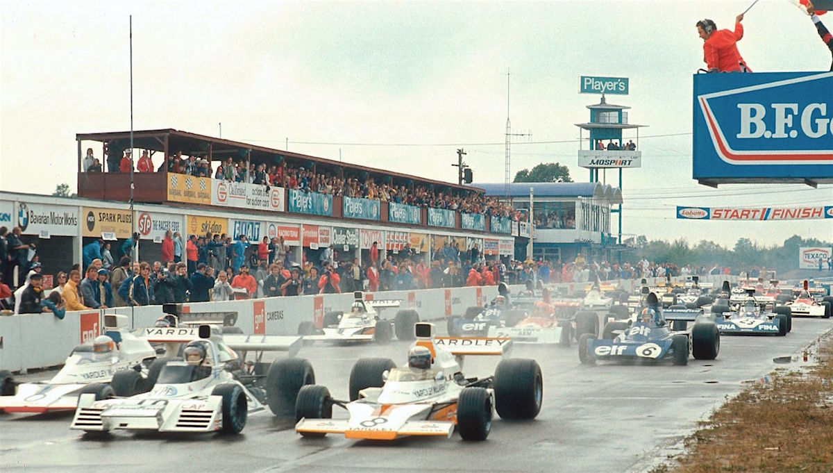 1973 Canadian Grand Prix start