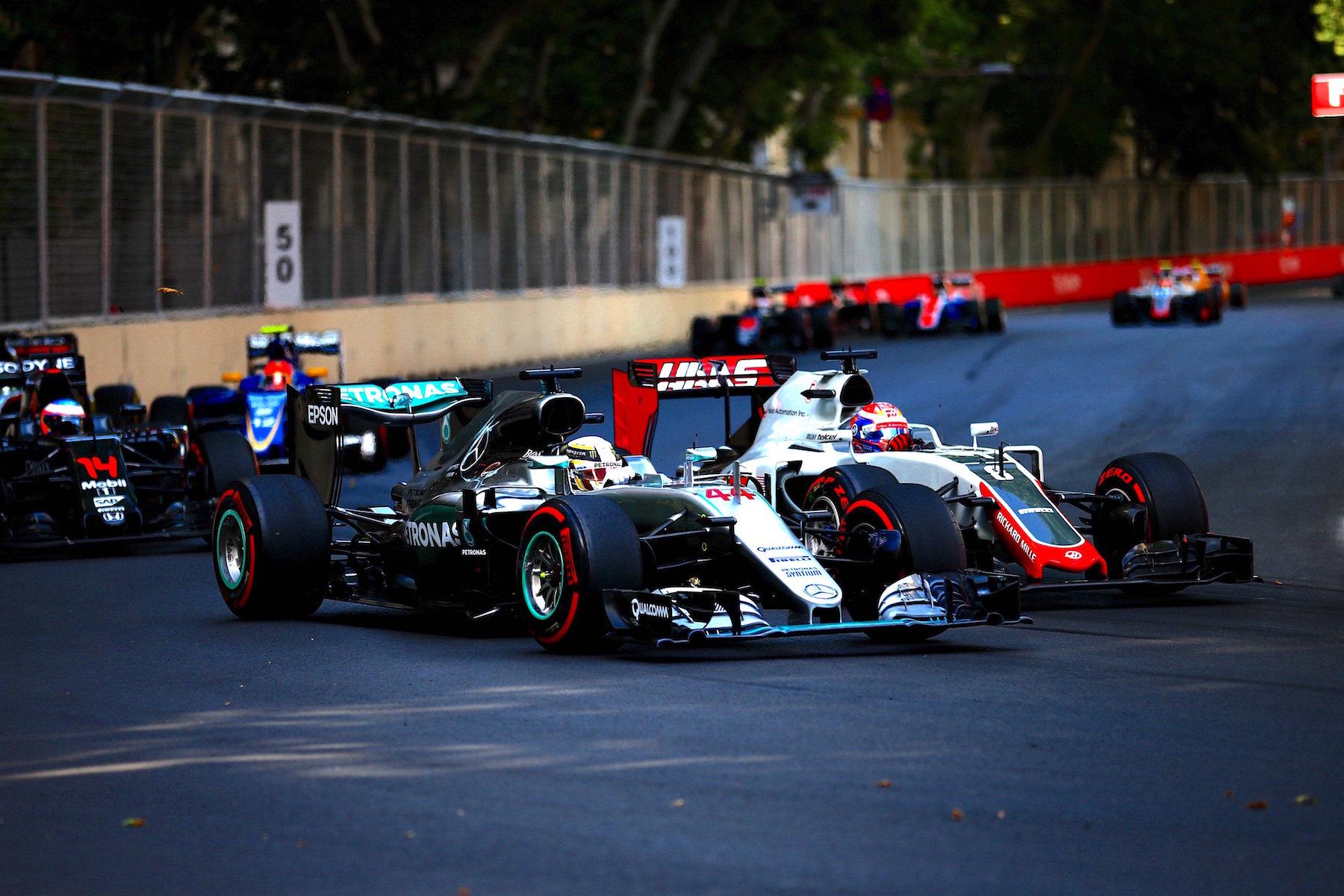Salracing | Mercedes and Haas