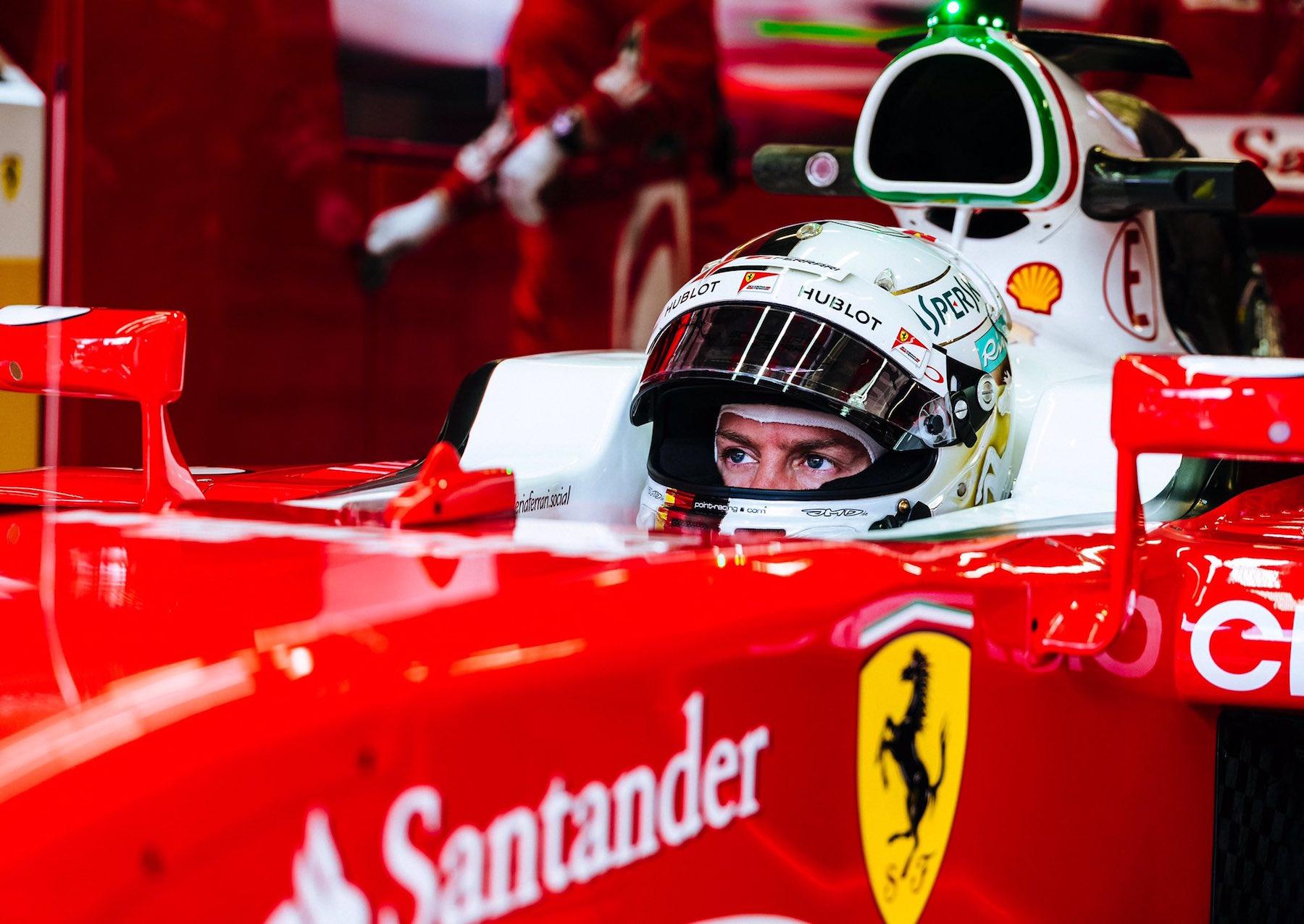 Salracing - Sebastian Vettel | Scuderia Ferrari SF16-H