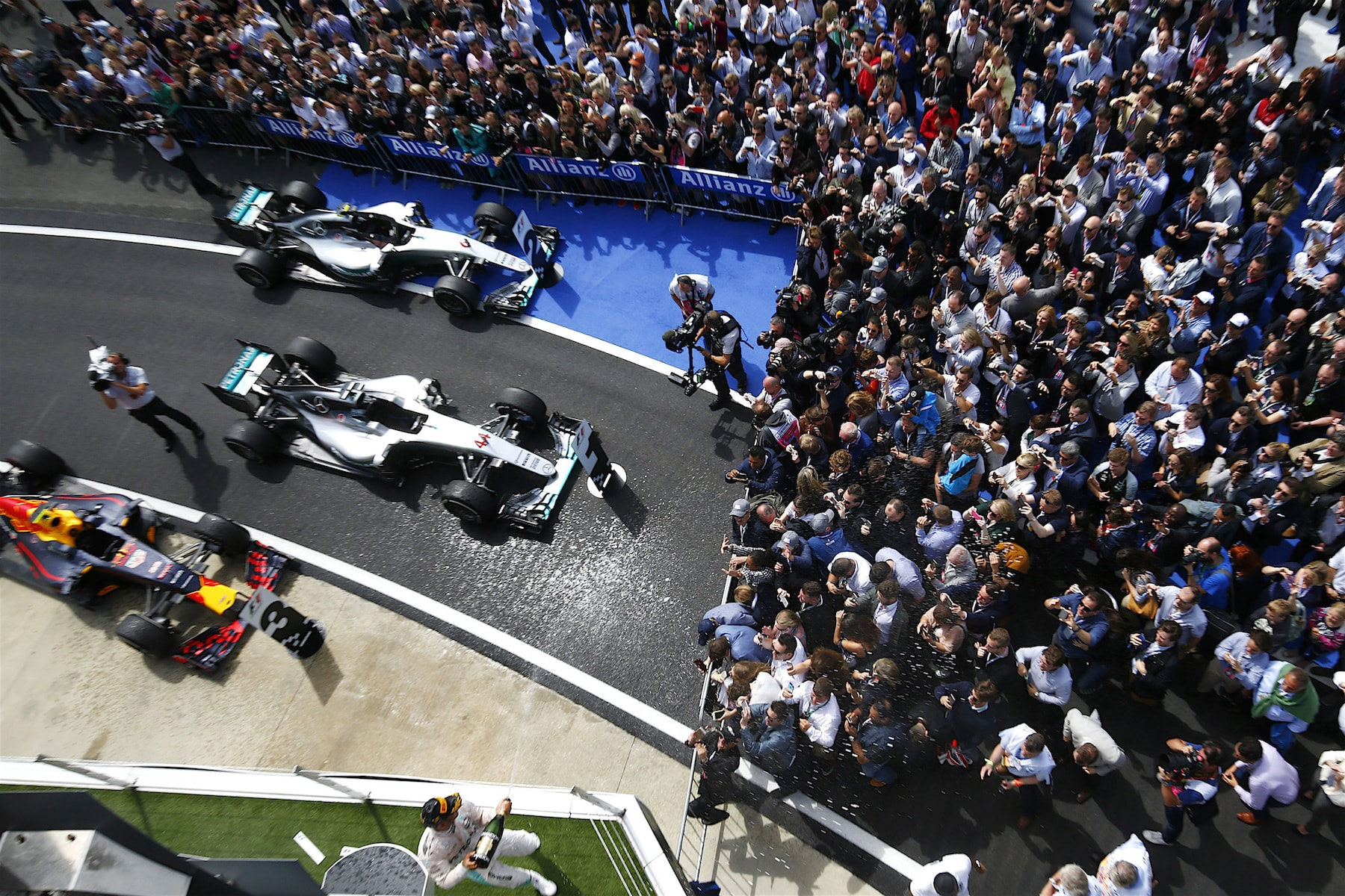 Salracing | British Grand Prix podium celebrations