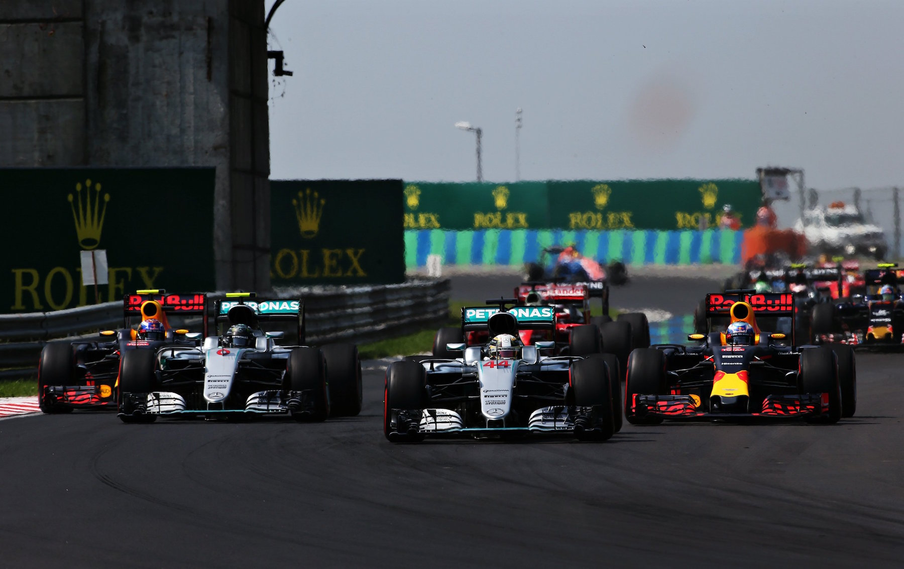 Salracing | 2016 Hungarian Grand Prix start