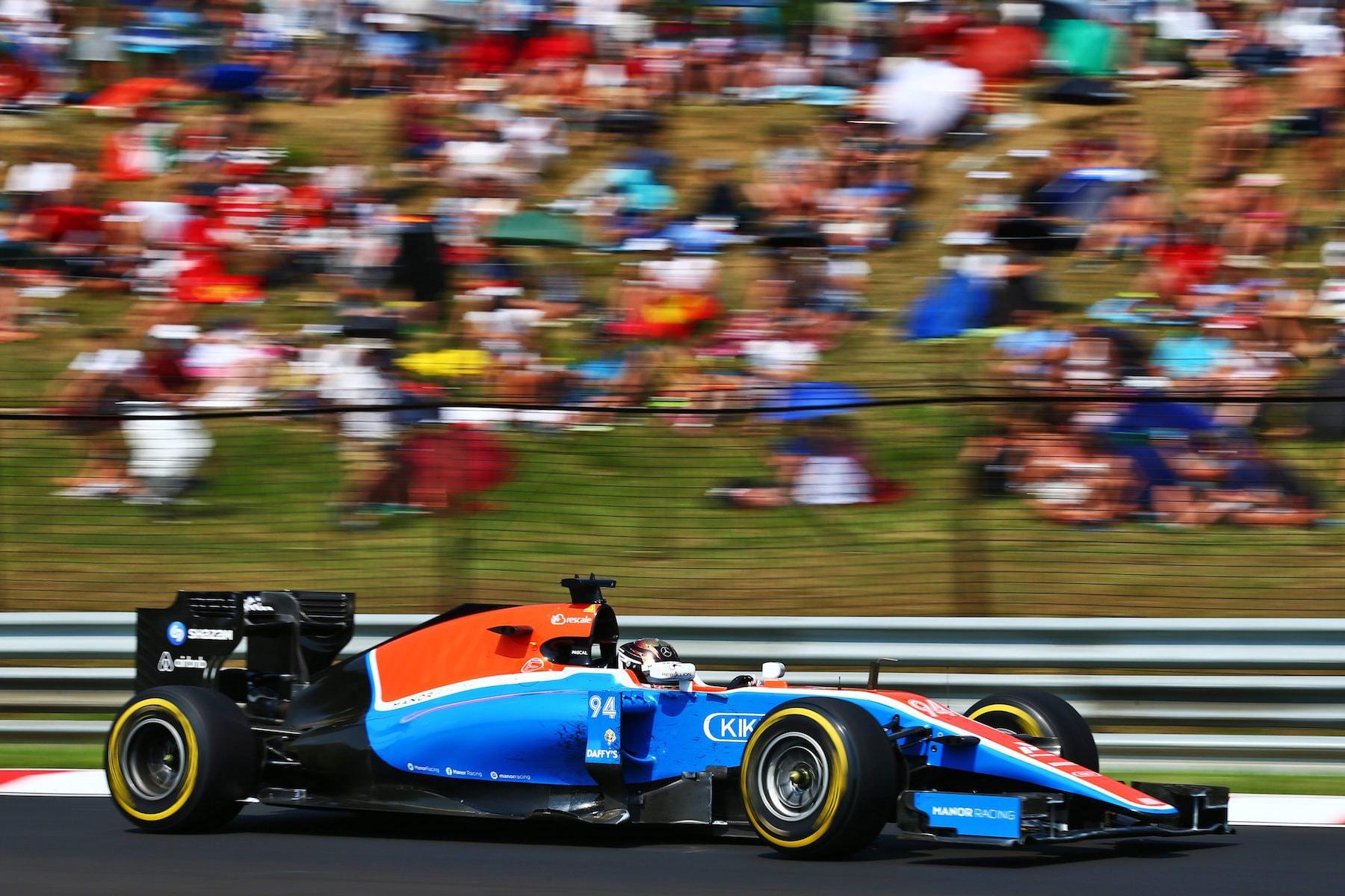Salracing | Pascal Wehrlein | Manor Racing