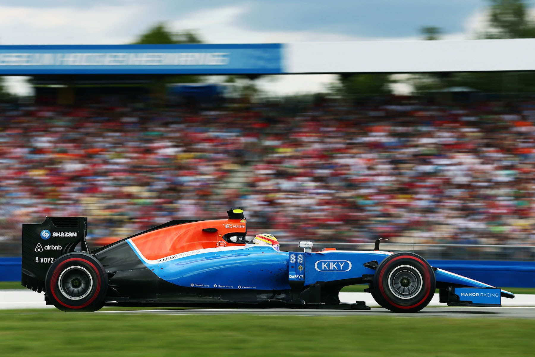 Salracing - Rio Haryanto | Manor Racing