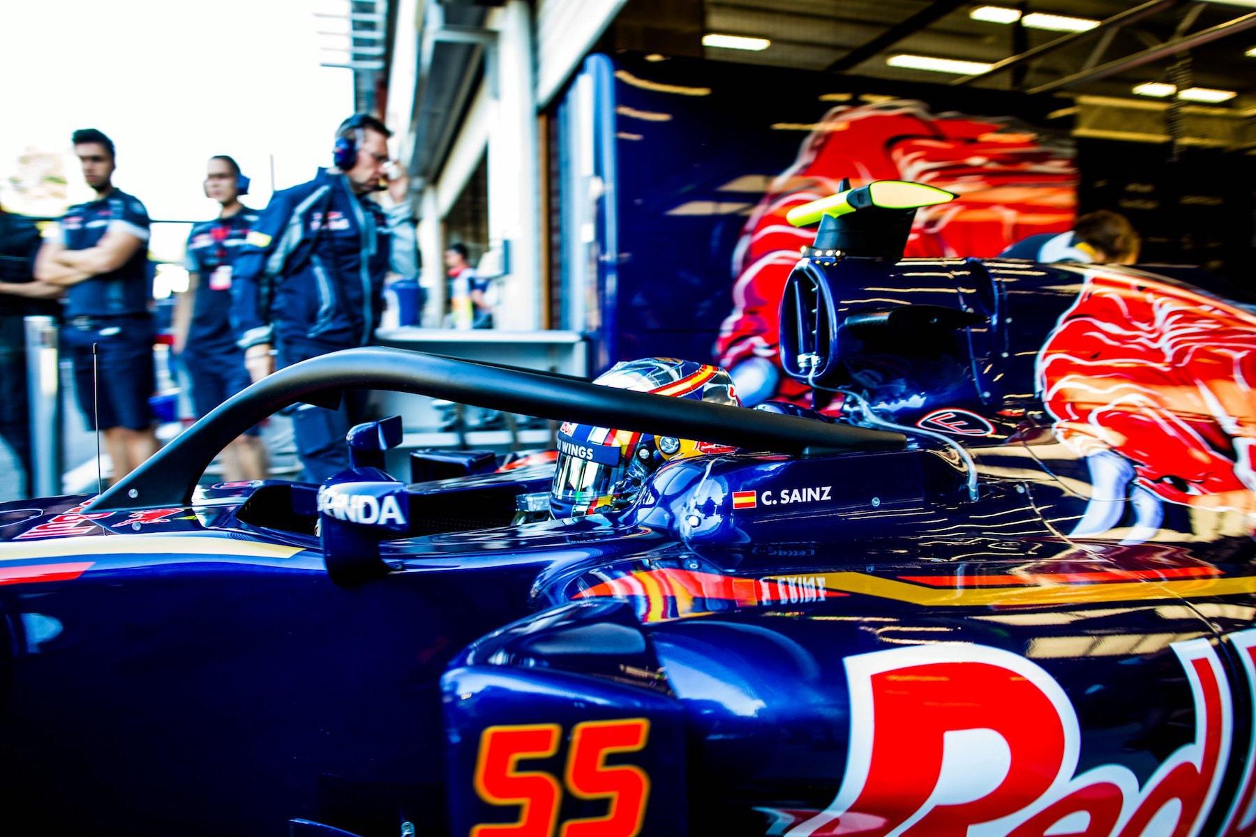 Salracing - Carlos Sainz's Toro Rosso with halo