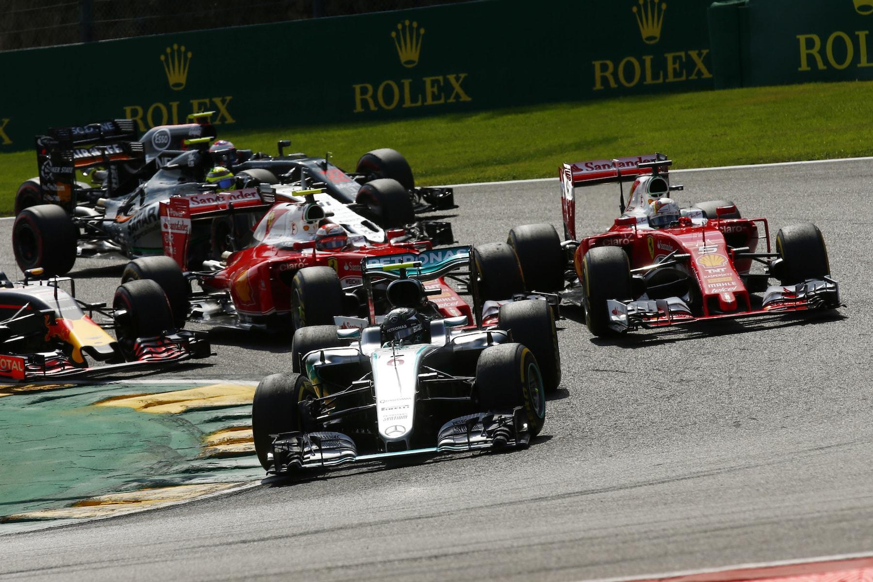 Salracing - Belgian Grand Prix start