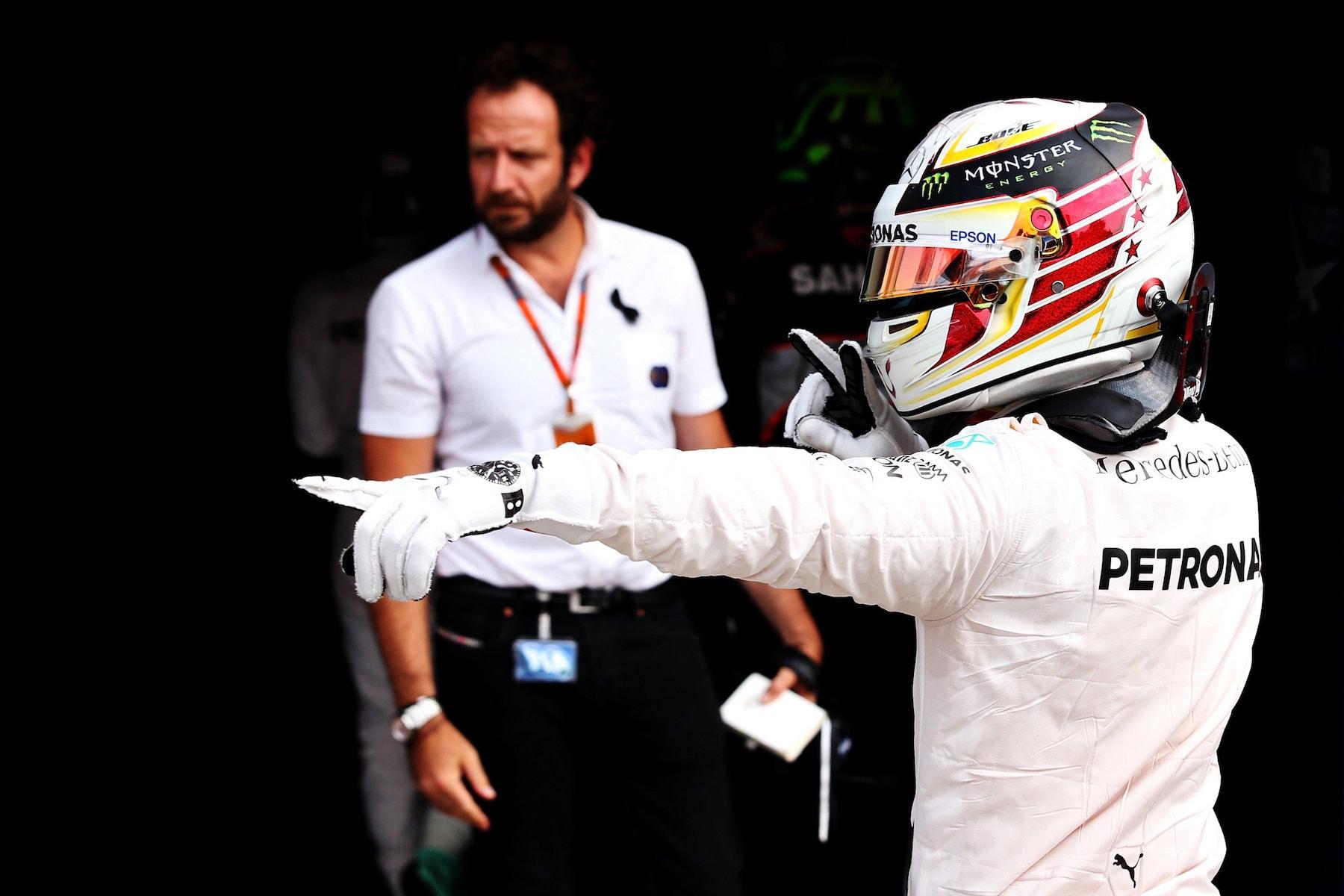Salracing - Lewis Hamilton gets Pole at Monza