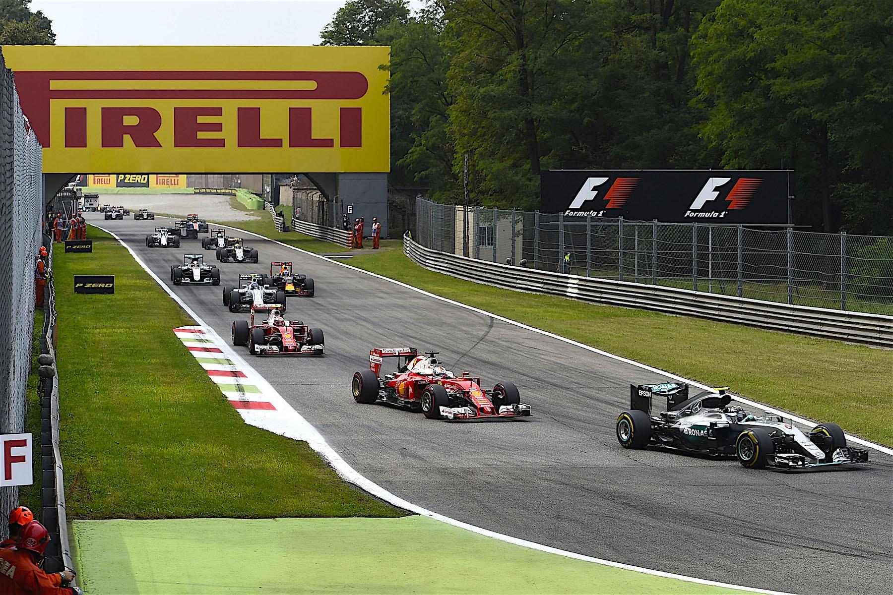 Salracing - First lap of the 2016 Italian Grand Prix