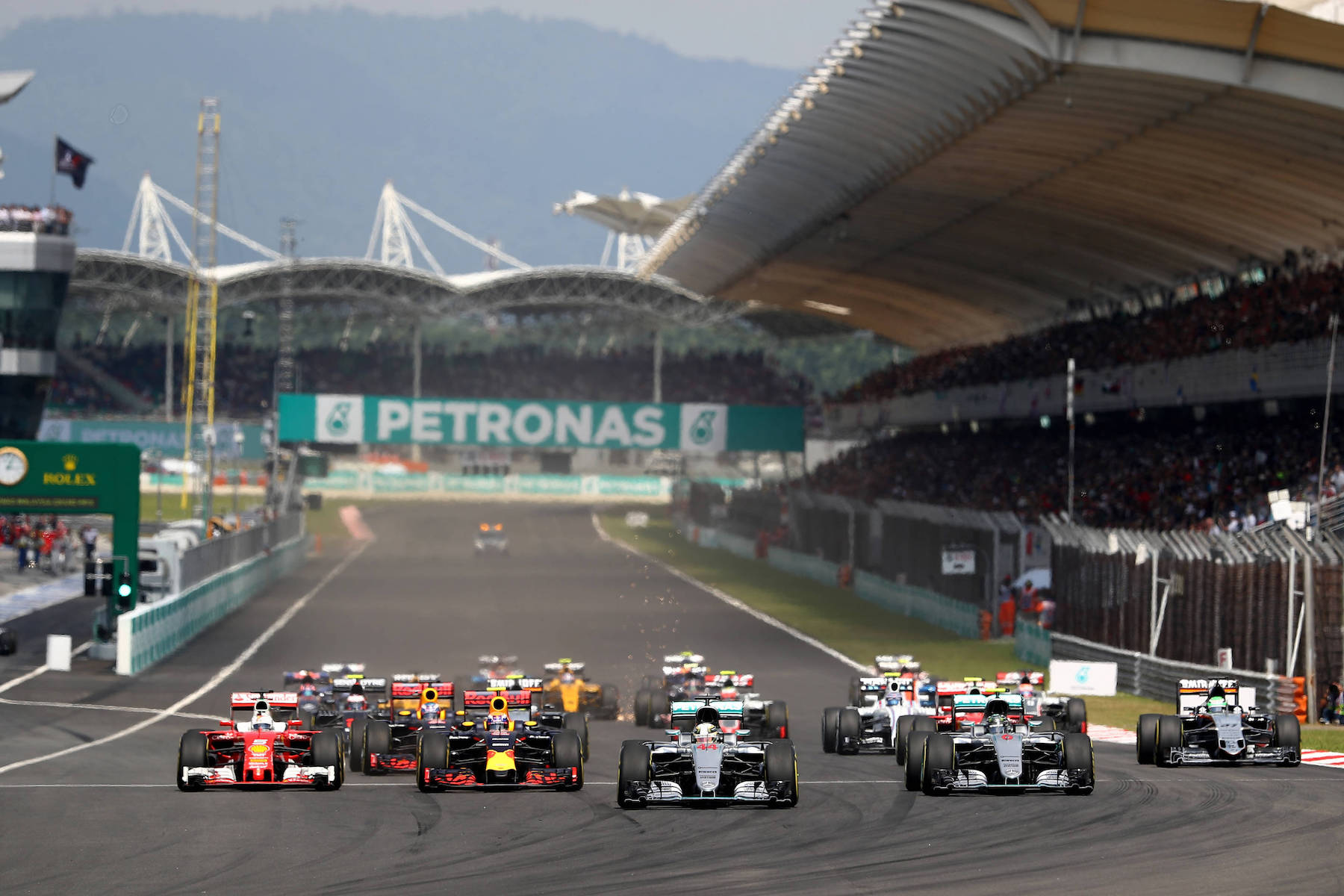 Salracing - Malaysia Grand Prix start