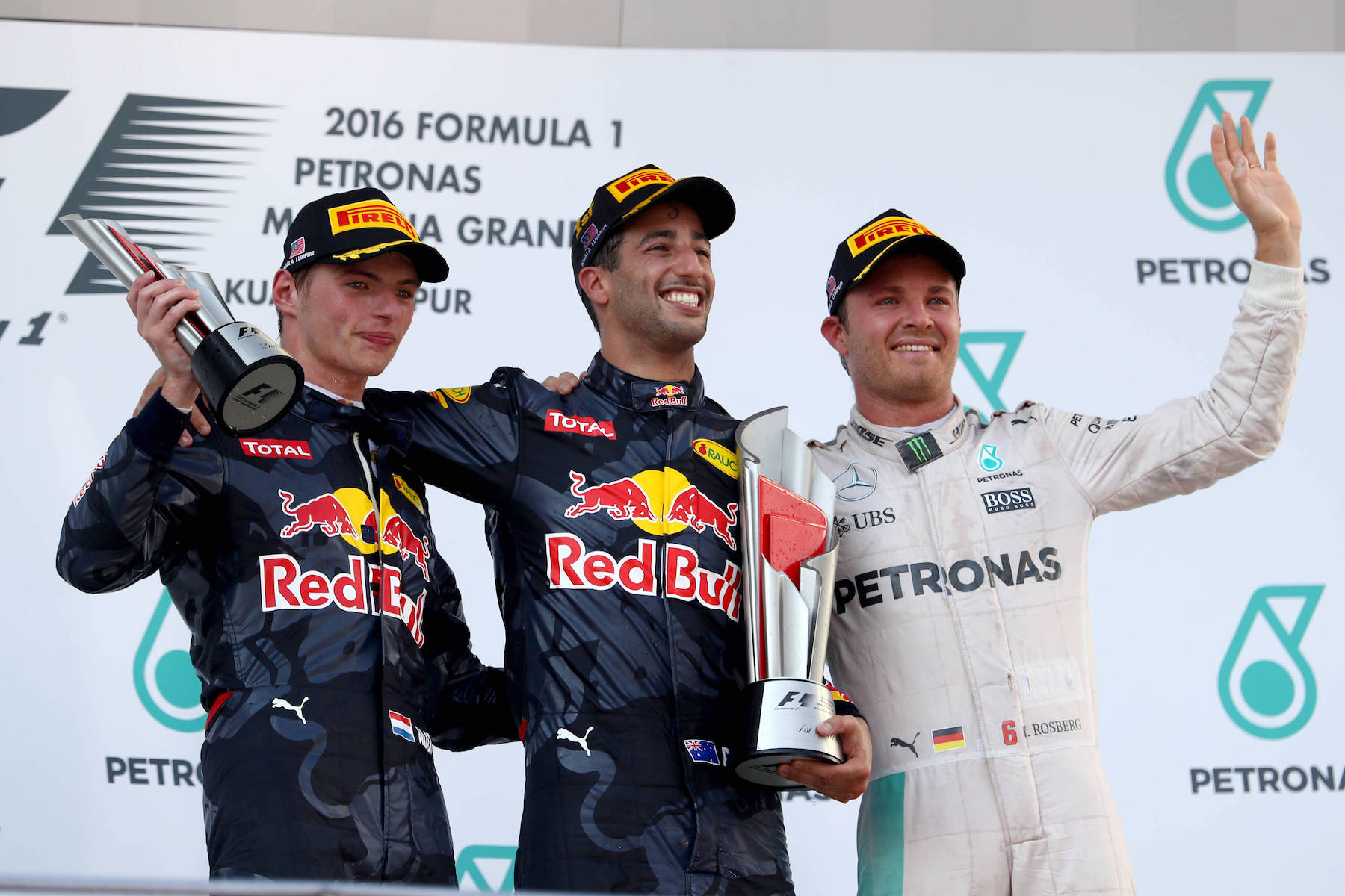 Salracing - Malaysia Grand Prix podium winners