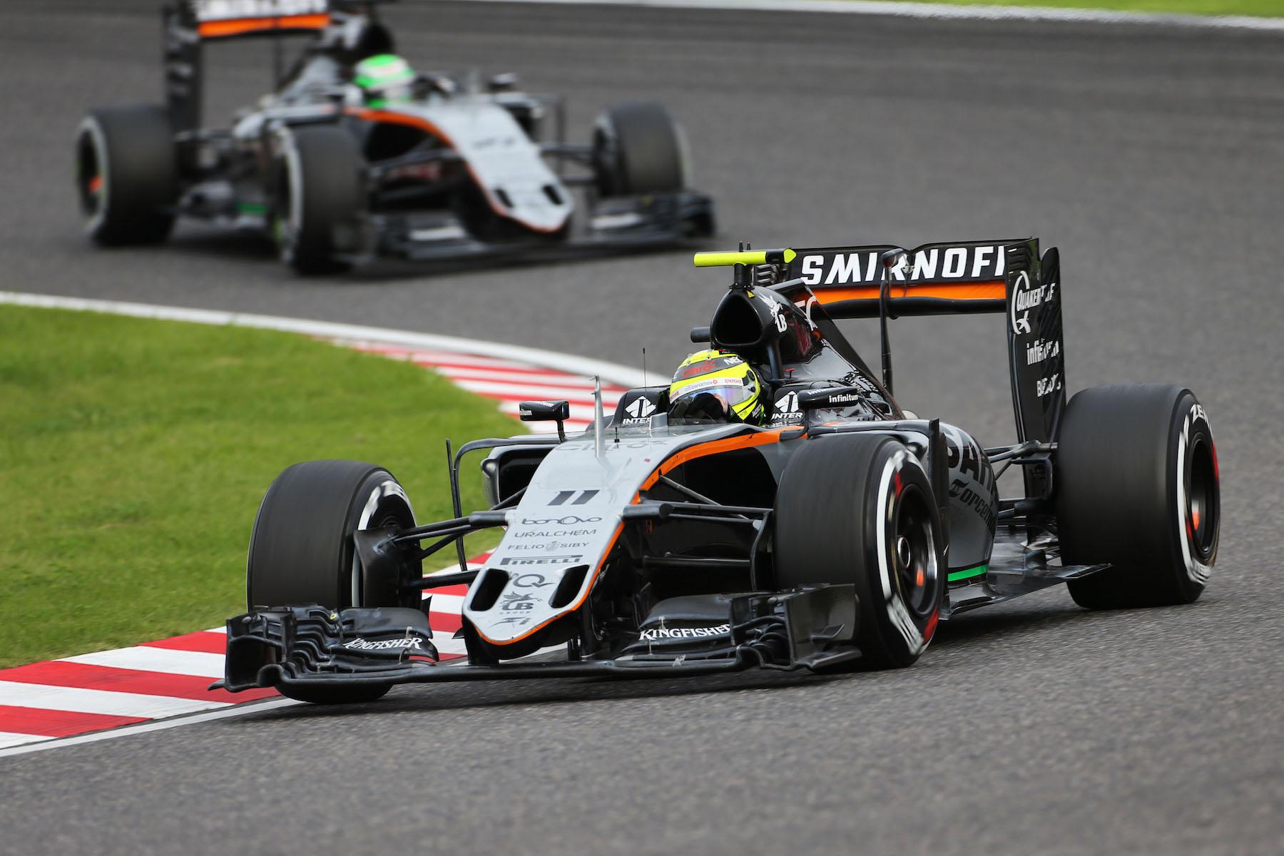 Salracing - Sergio Perez | Sahara Force India F1 Team
