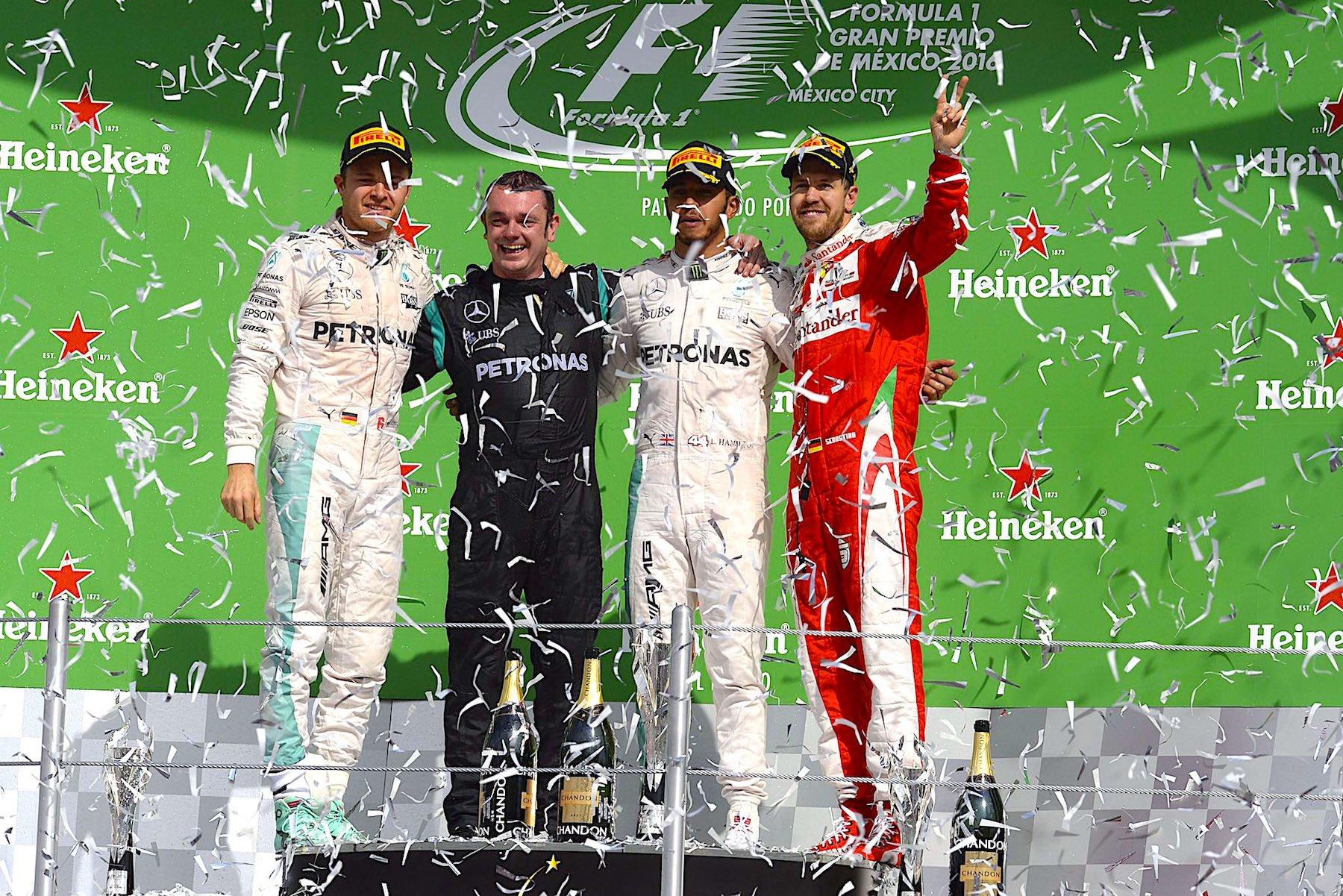 Salracing - Mexican Grand Prix podium