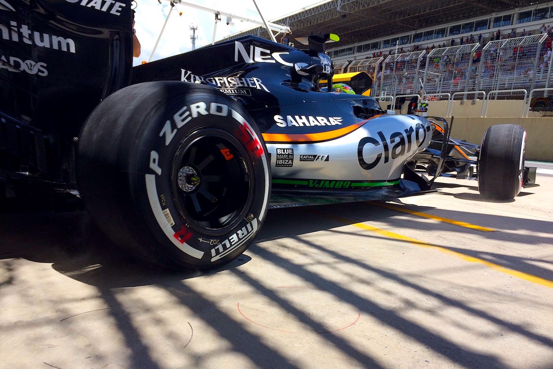 Salracing - Sergio Perez | Sahara Force India