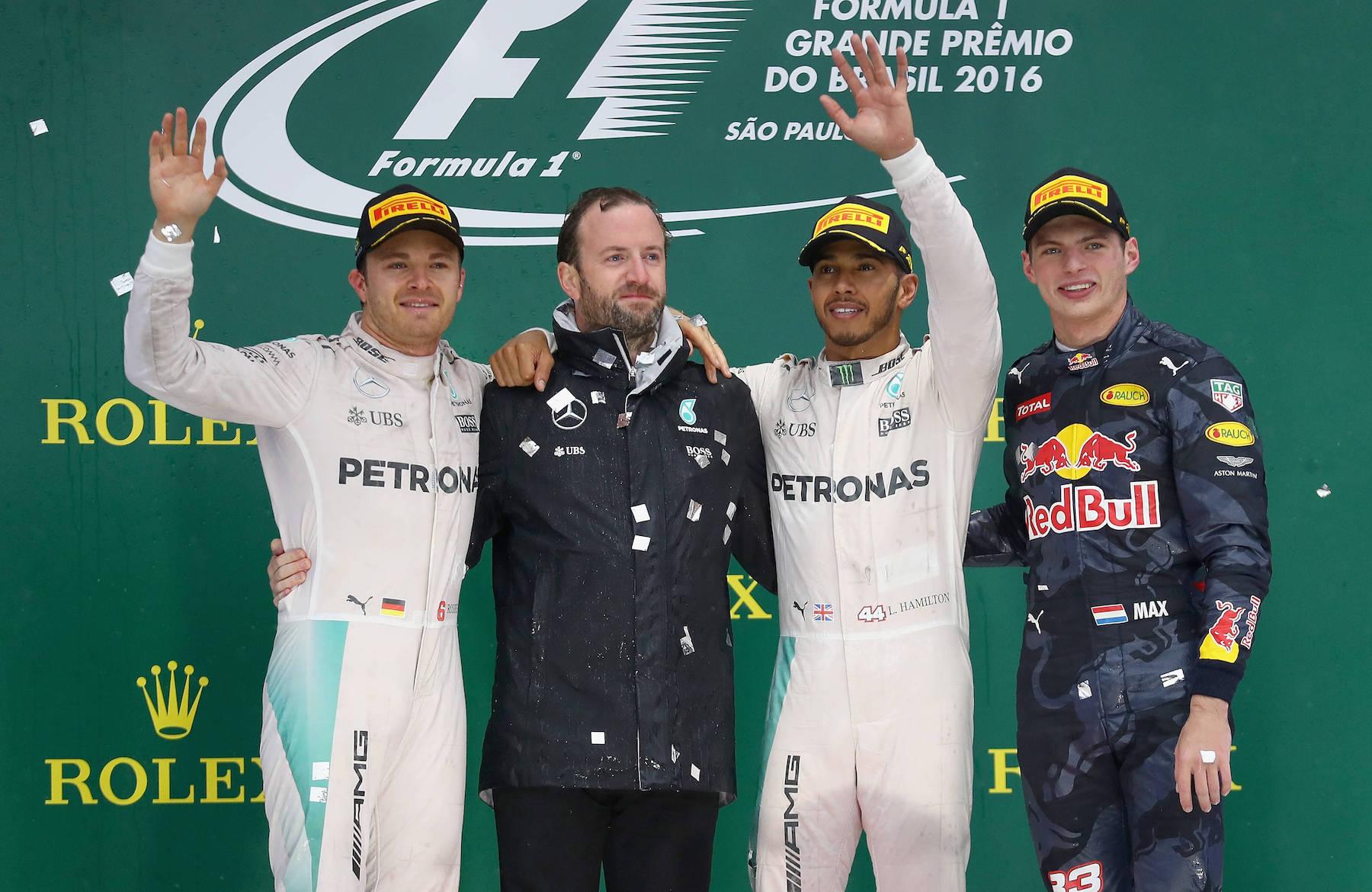 Salracing - Brazilian Grand Prix Podium