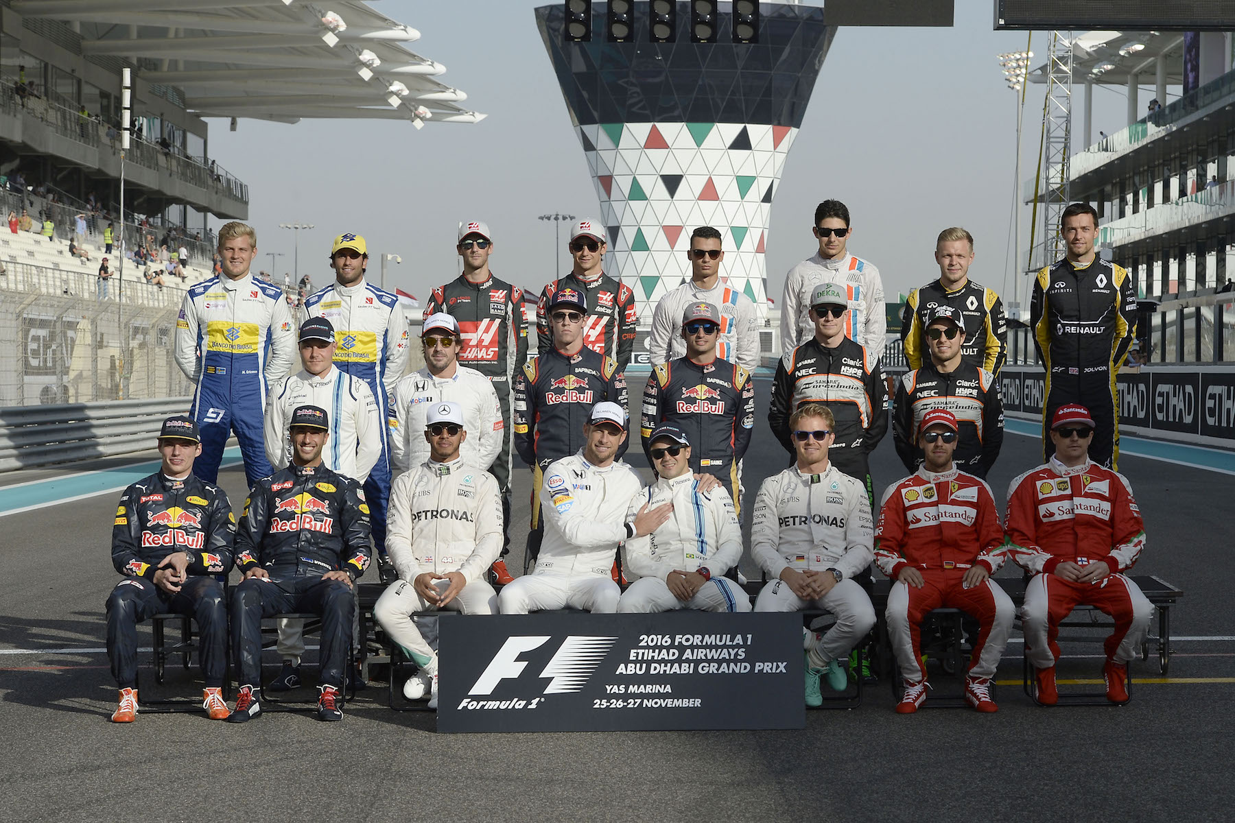 Salracing - The F1 Class of 2016