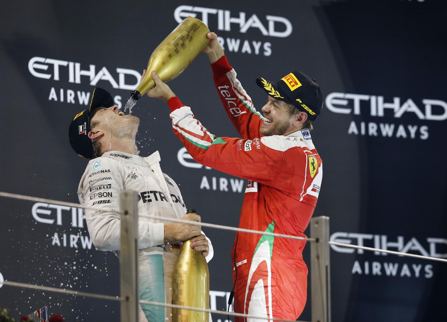 Salracing - Nico Rosberg and Sebastian Vettel