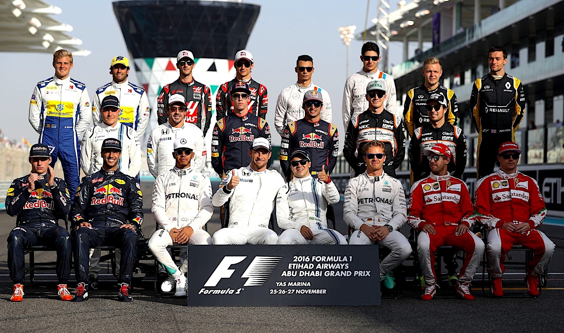 Formula One Class of 2016