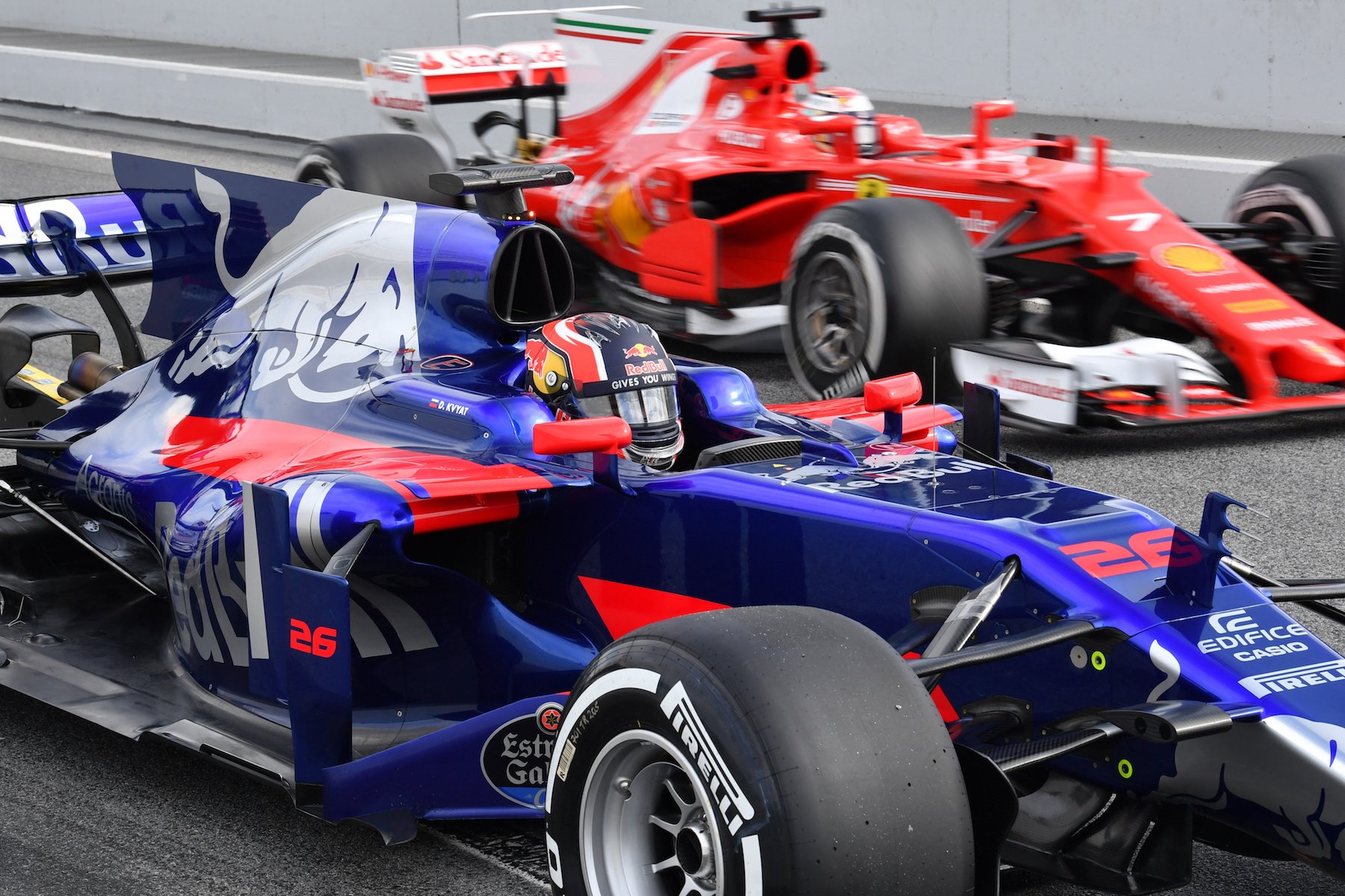 Salracing | Toro Rosso and Ferrari