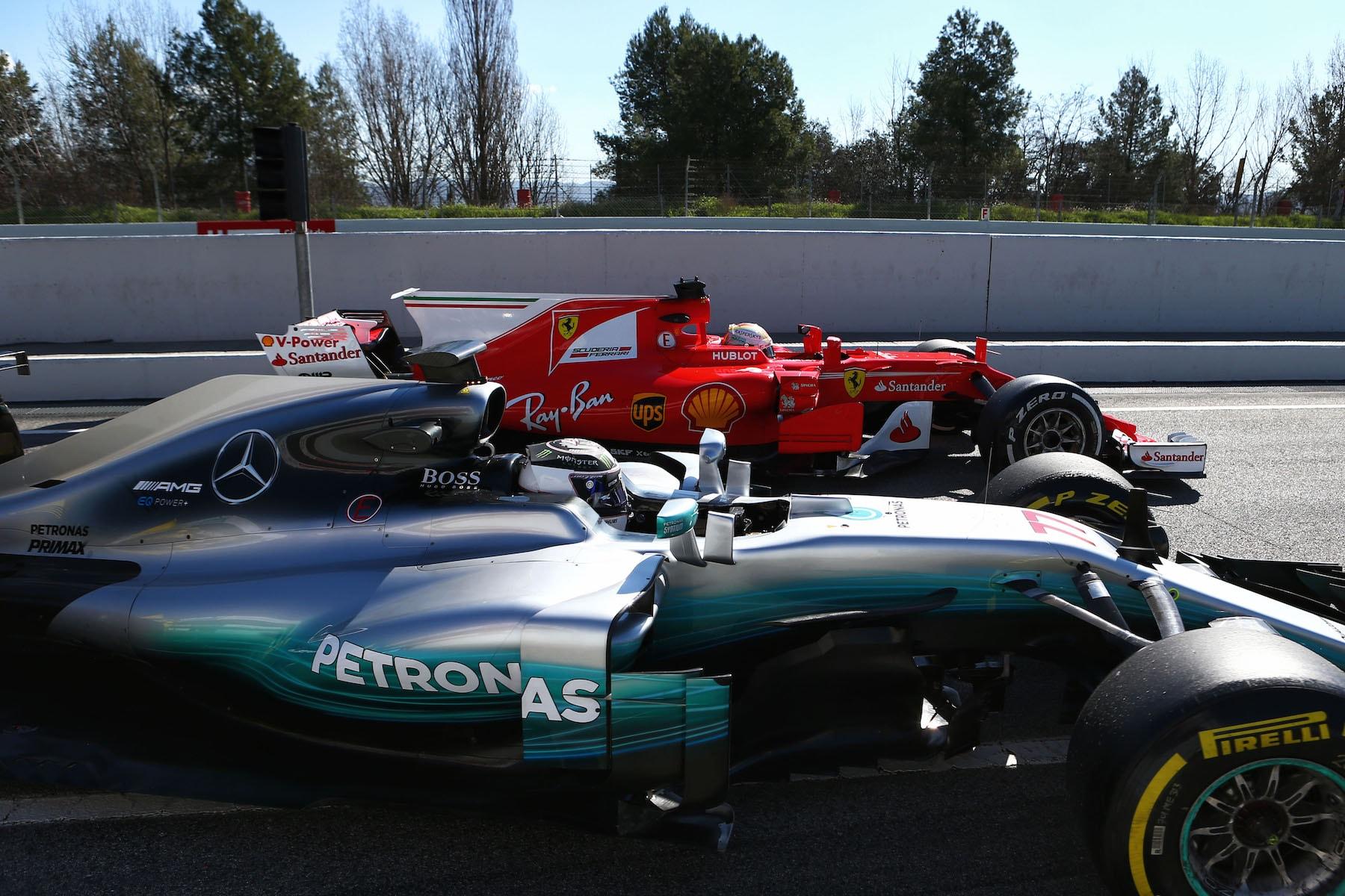 Salracing | Mercedes and Ferrari