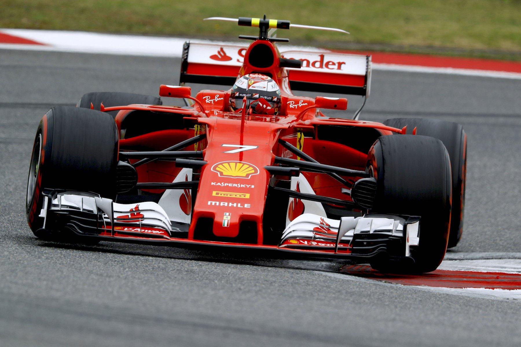 F 2017 Kimi Raikkonen and Sebastian Vettel | Ferrari SF70H | 2017 Chinese GP P5 2 copy.jpg