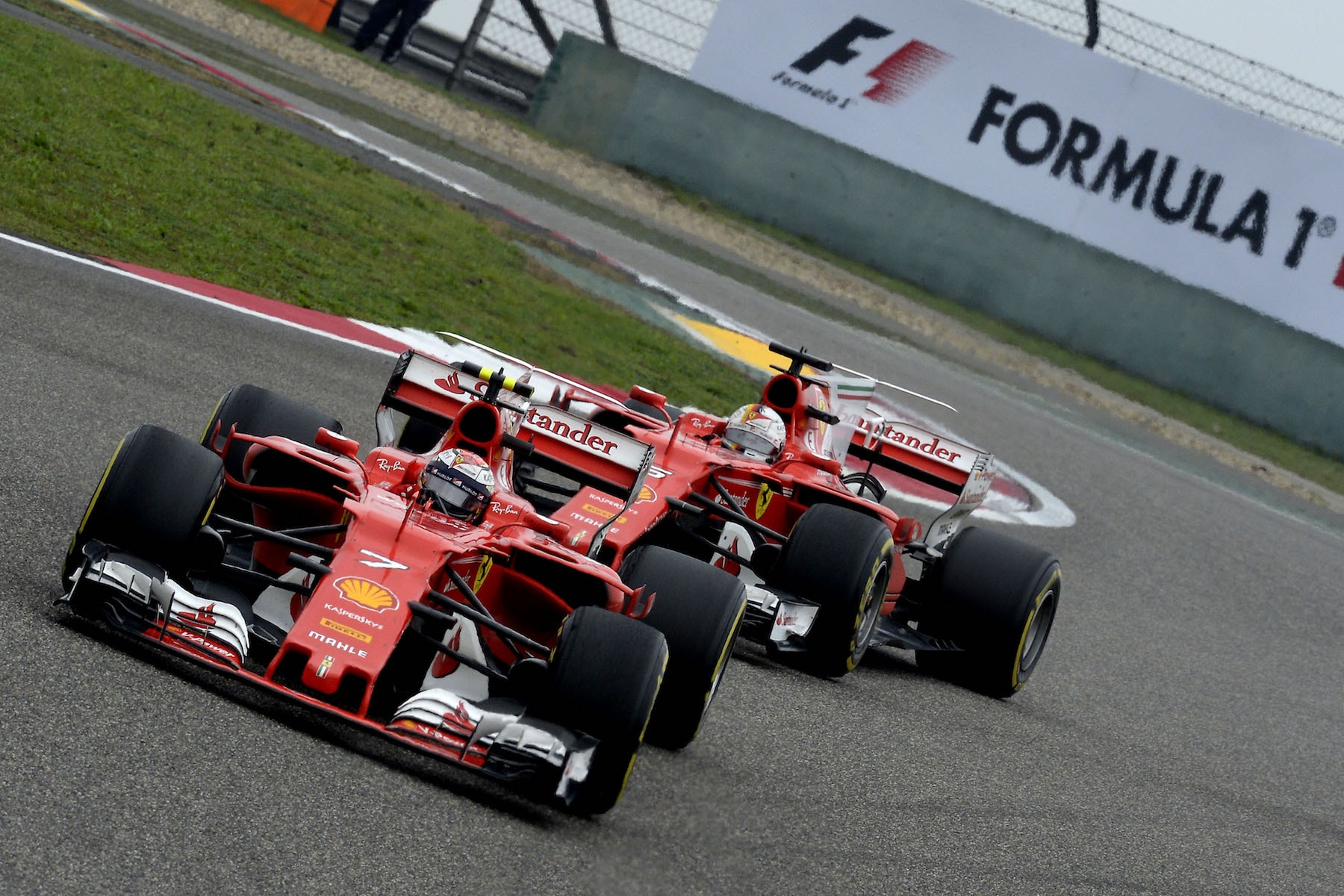 J 2017 Kimi Raikkonen and Sebastian Vettel | Ferrari SF70H | 2017 Chinese GP P5 1 copy.jpg