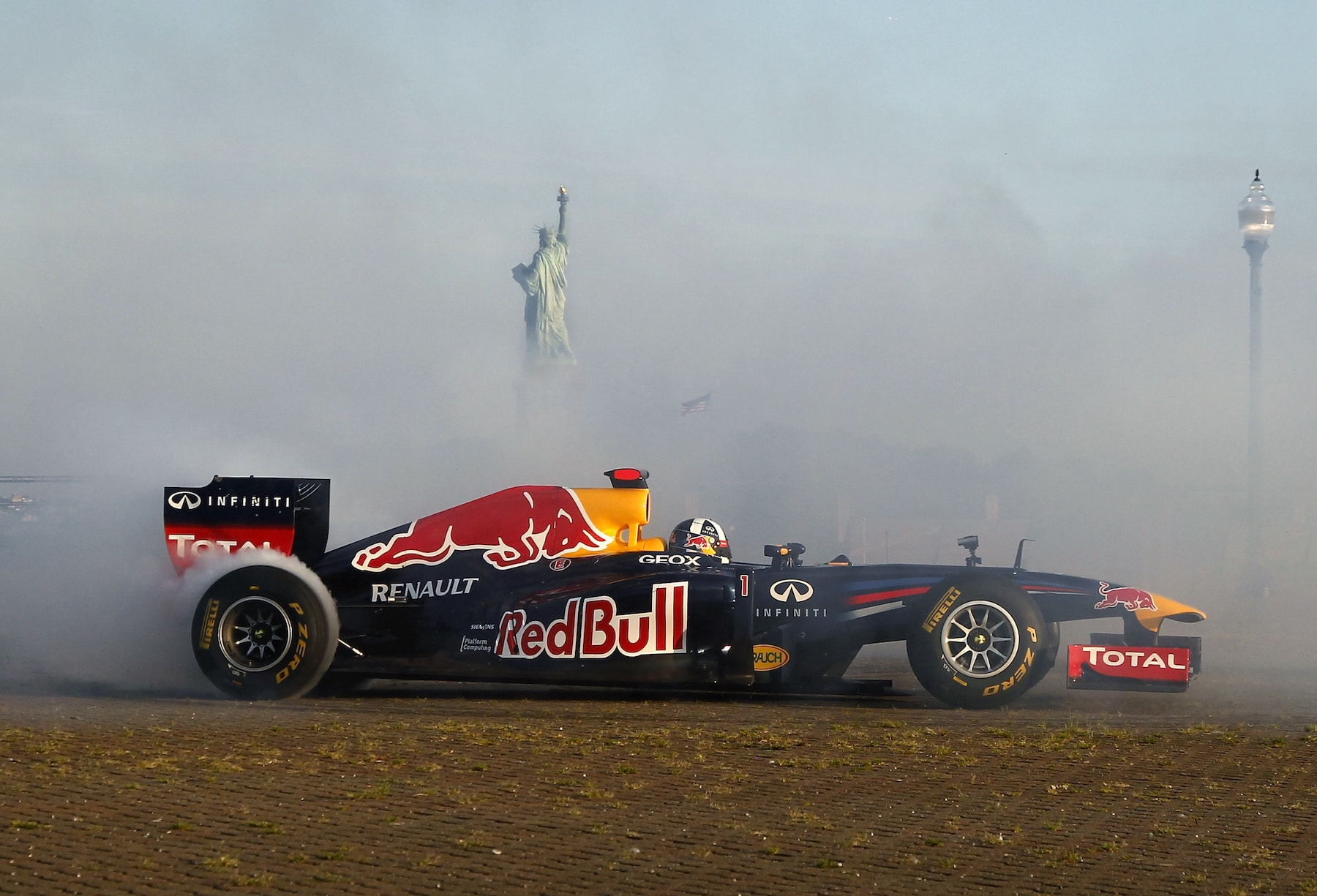 The RB7 and the Statue of Liberty