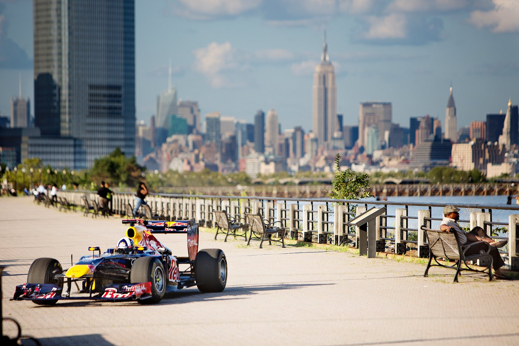The RB7 and a striking Manhattan view