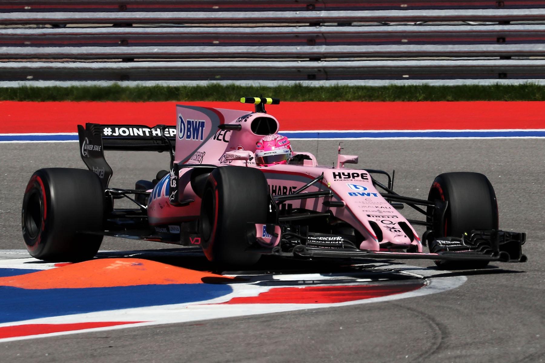 2017 Esteban Ocon | Force India VJM10 | 2017 Russian FP3 1 copy.jpg