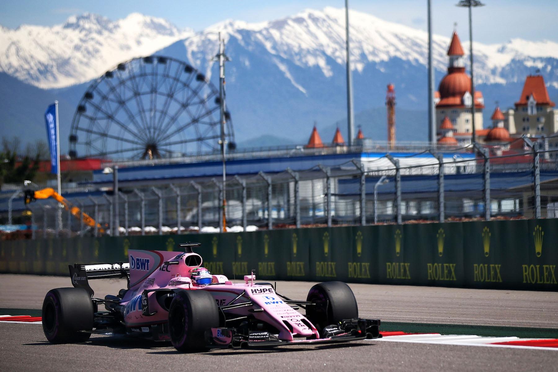 2017 Sergio Perez | Force India VJM10 | 2017 Russian GP Q1 1 copy.jpg