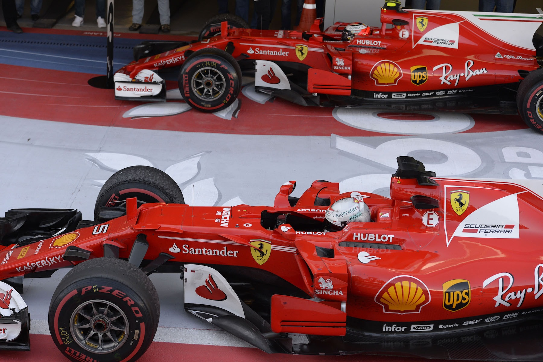 R 2017 Ferrari drivers arriving at Podium | 2017 Russian GP copy.jpg