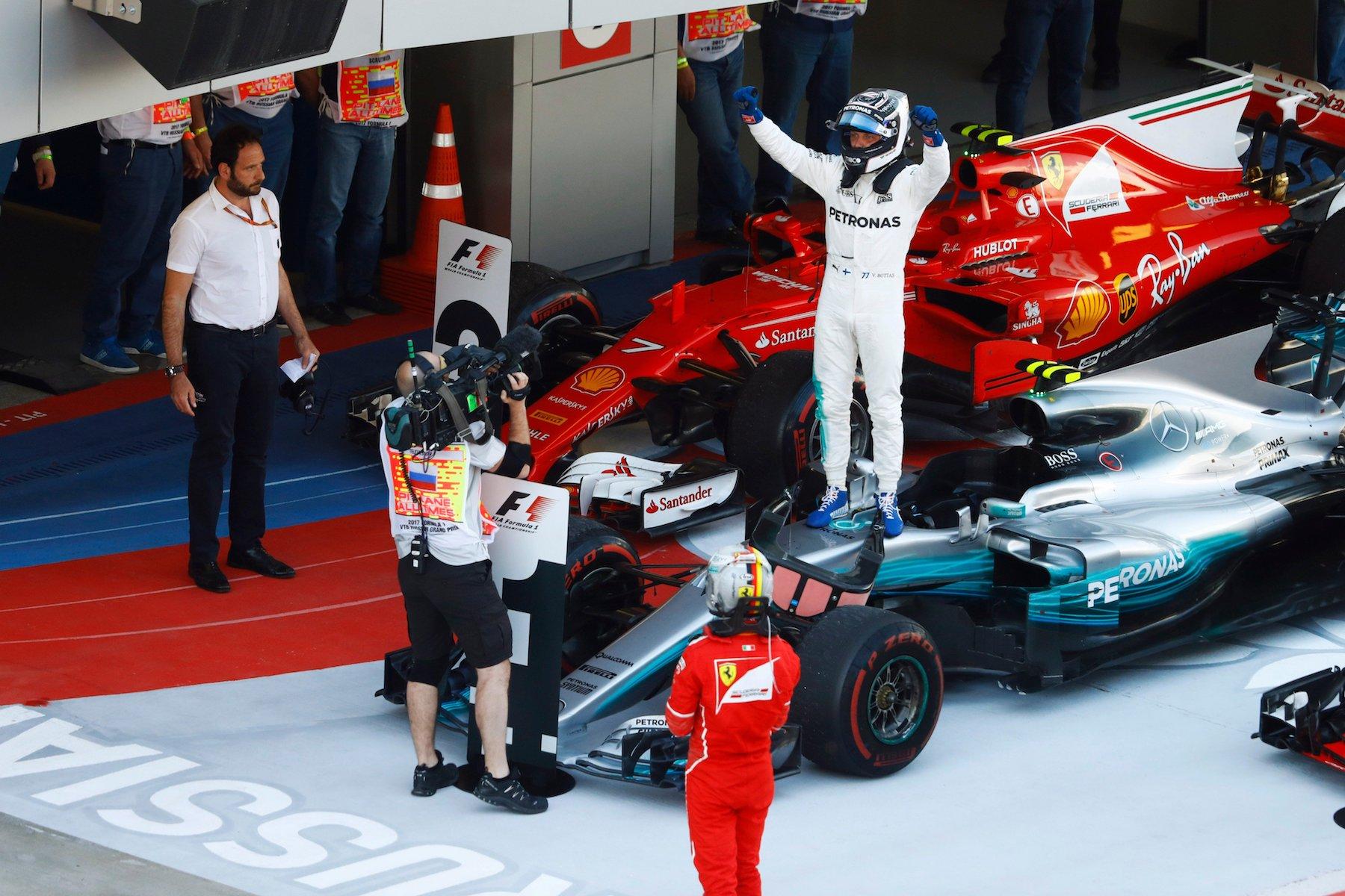Salracing | Valtteri Bottas 2017 Russian GP winner
