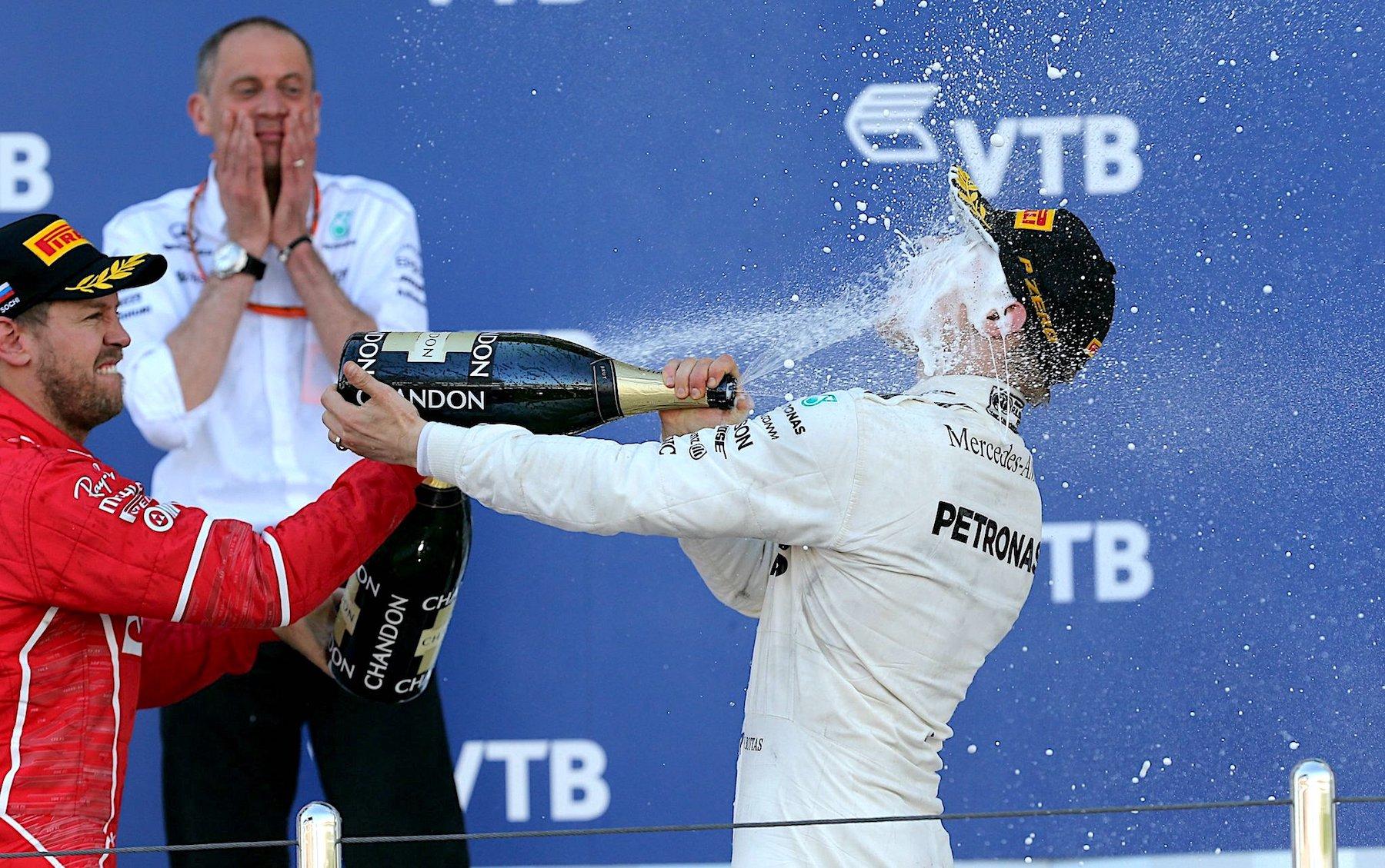 Salracing | 2017 Russian GP podium celebrations