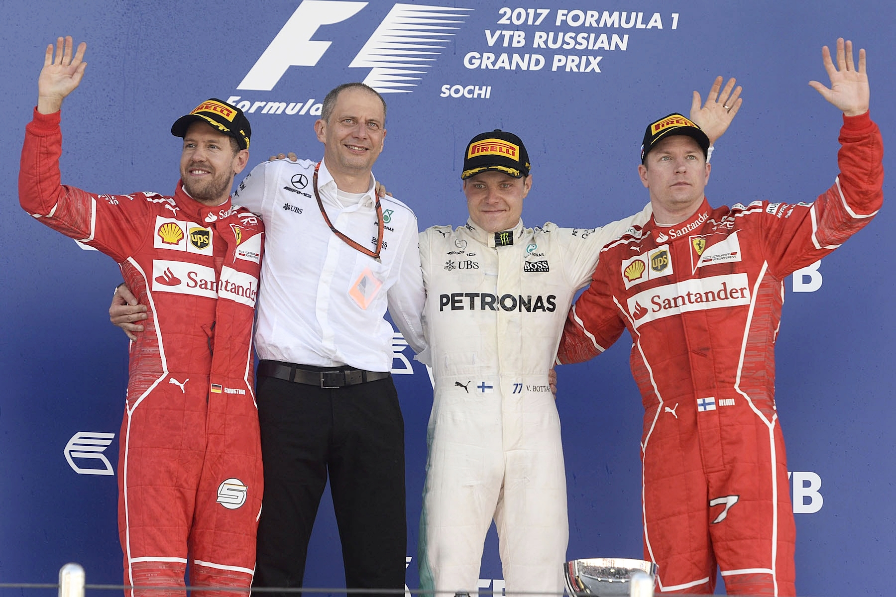 Salracing | 2017 Russian GP podium