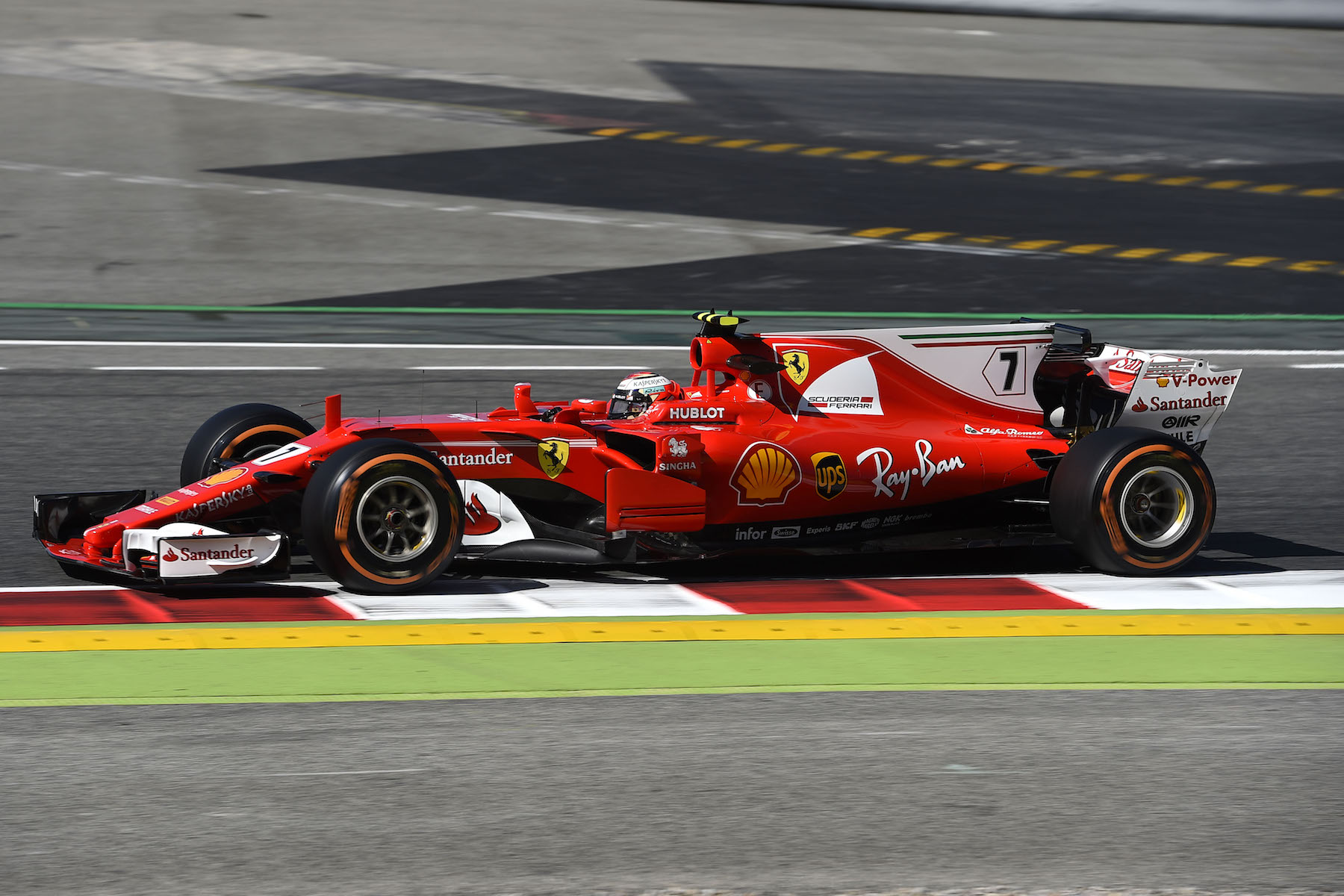 2017 Kimi Raikkonen | Ferrari SF70H | 2017 Spanish GP FP2 3 copy.jpg