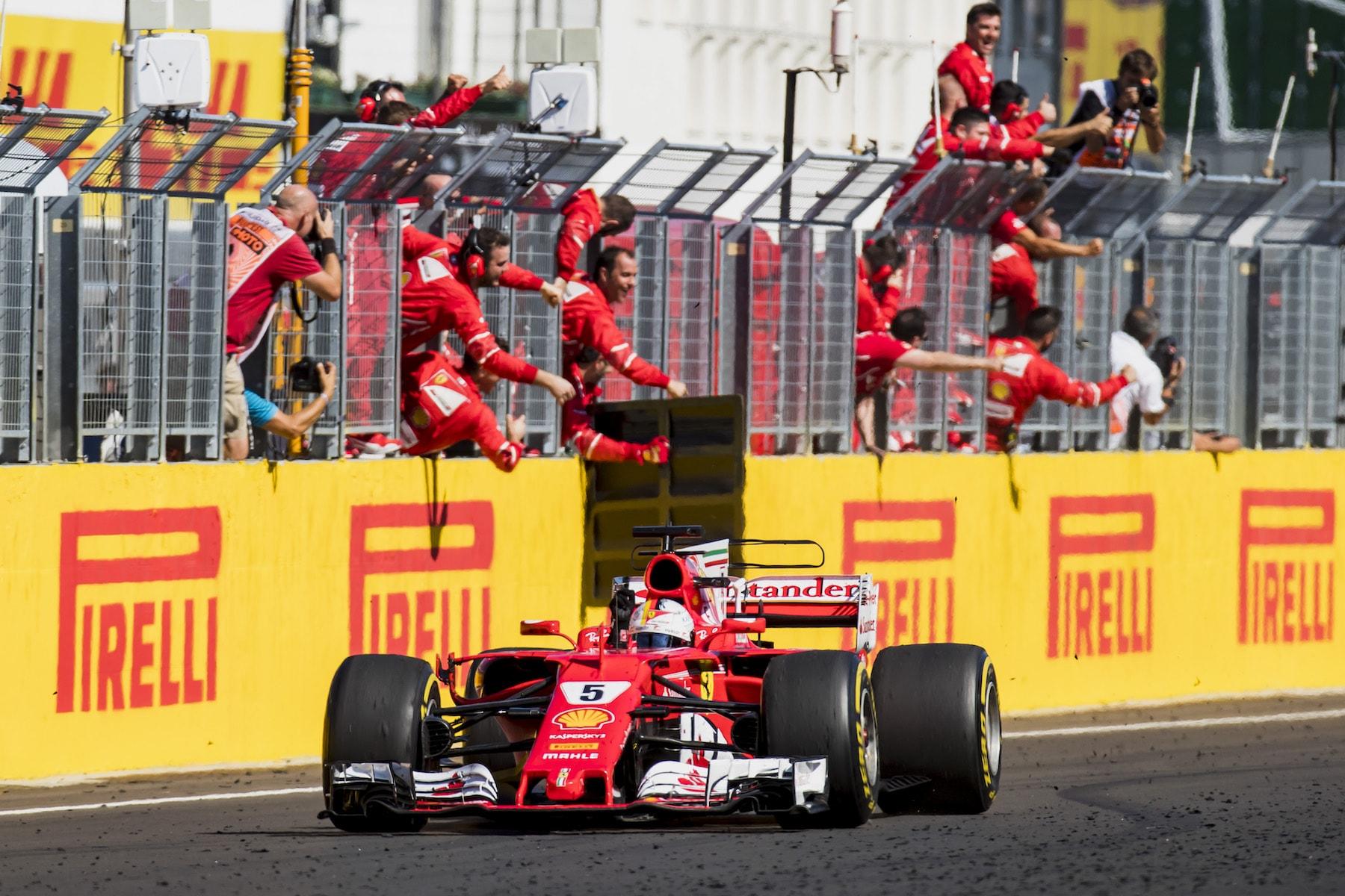 S 2017 Sebastian Vettel | Ferrari SF70-H | 2017 Hungarian GP winner 5 photo by Zak Mauger:LAT Images copy.jpg