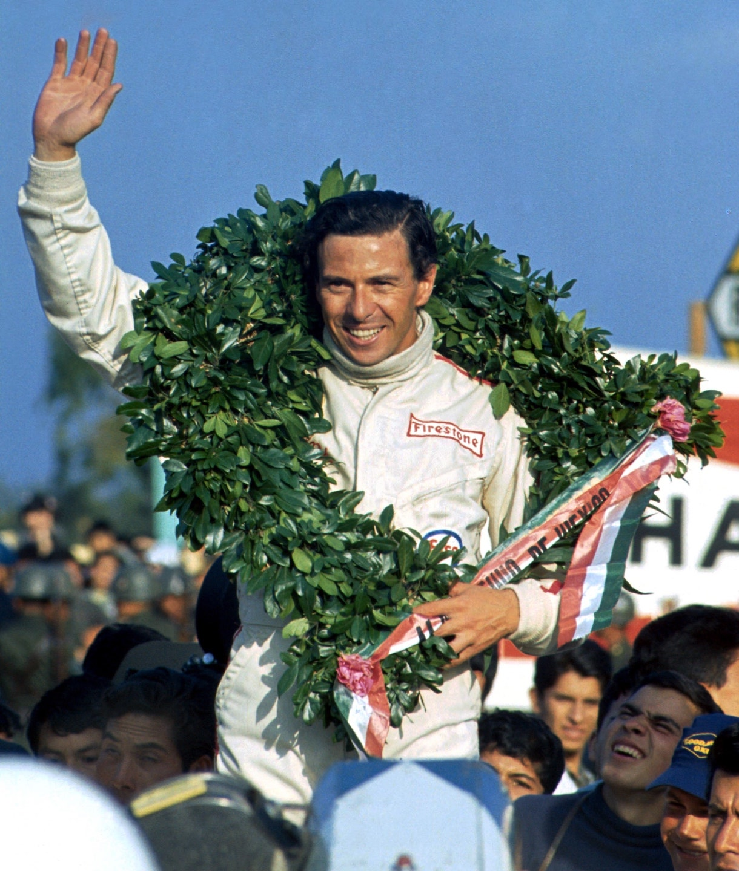 Jim Clark 1967 Mexico winner