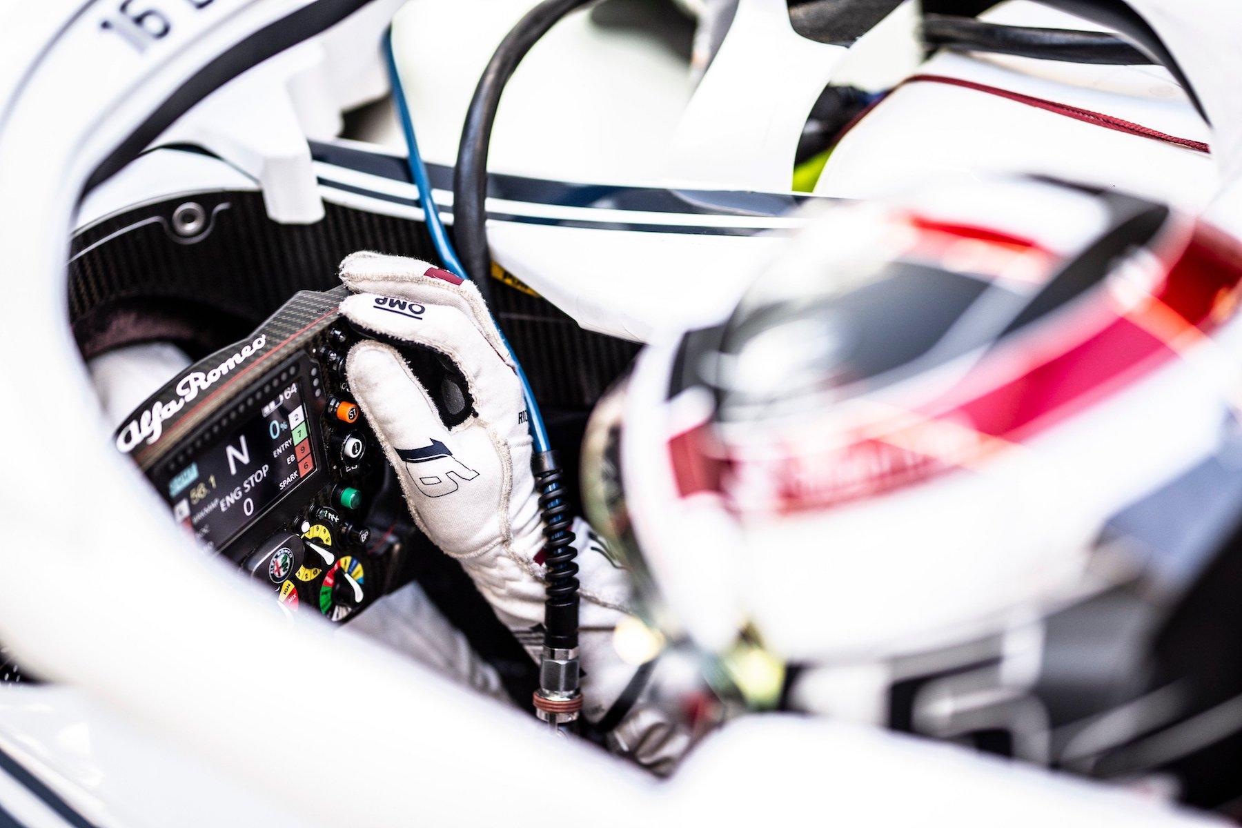 2018 Charles Leclerc | Sauber C37 | 2018 British GP 1 copy.jpg