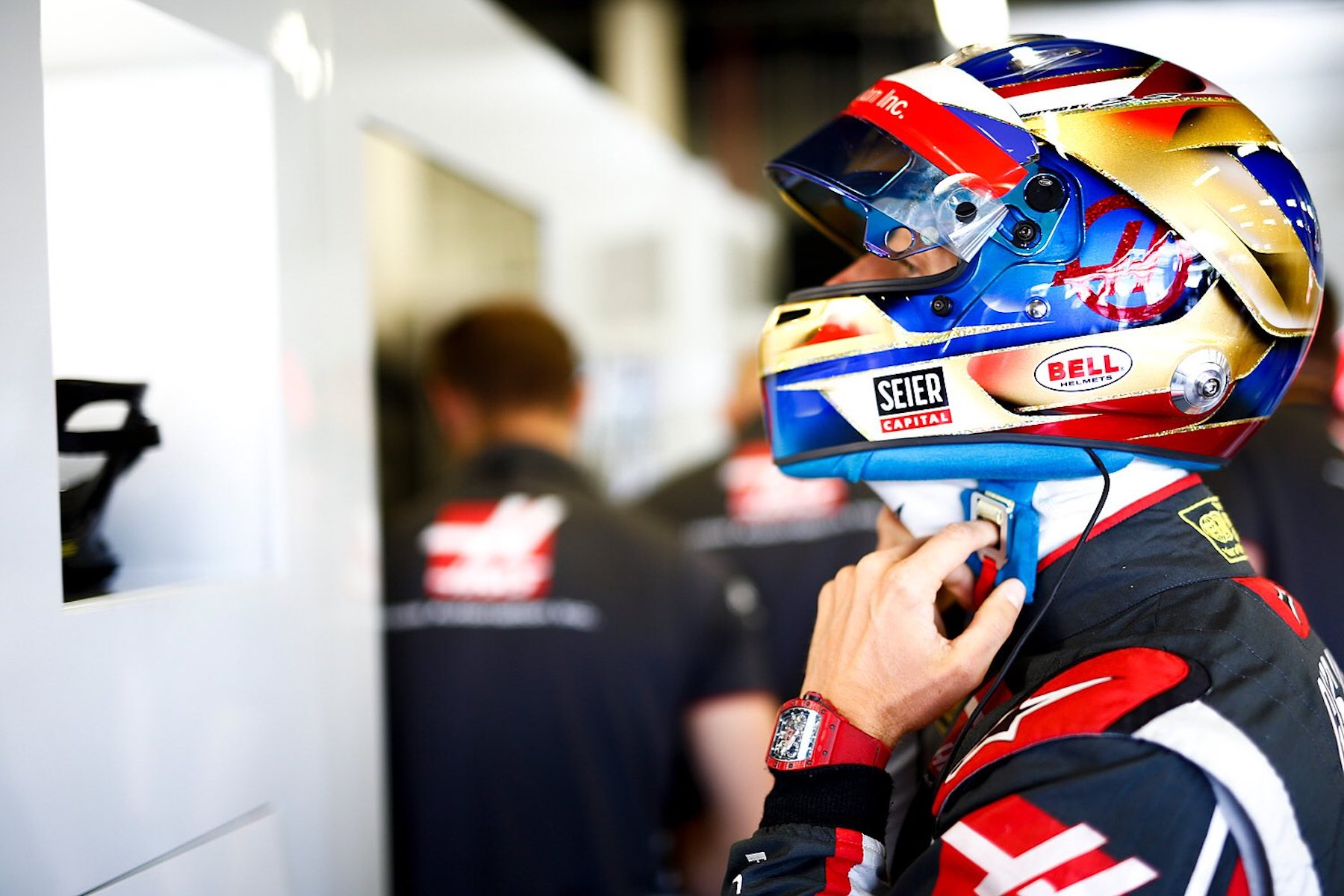 2018 Romain Grosjean | Haas VF18 | 2018 British GP 1 copy.jpg