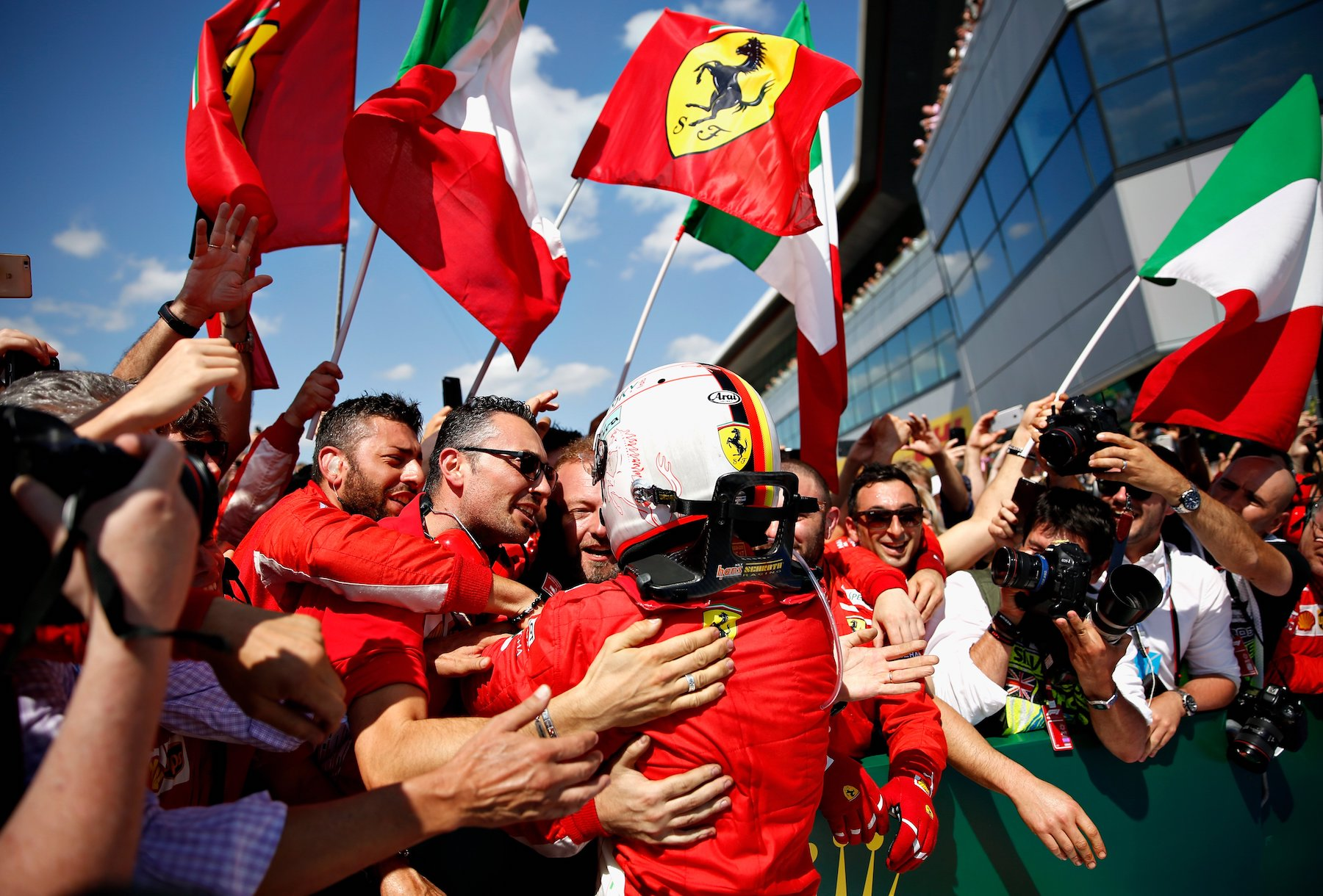 W 2018 Sebastian Vettel | Ferrari SF71H | 2018 British GP winner 7 copy.jpg