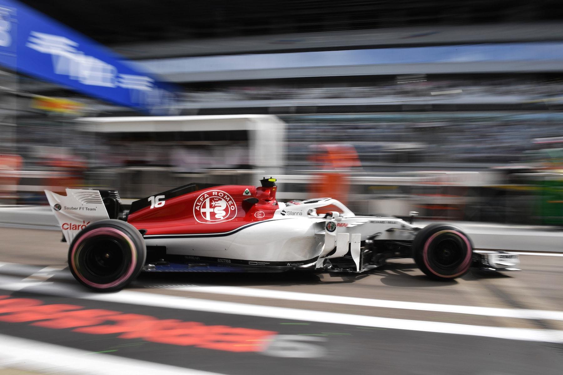 2018 Charles Leclerc | Sauber C37 | 2018 Russian GP FP1 1 copy.jpg