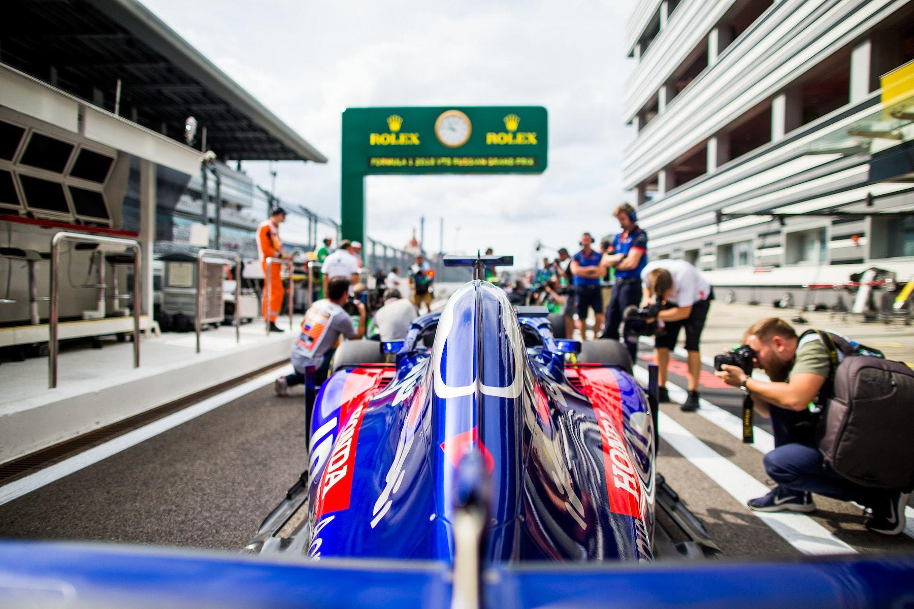 2018 Brendon Hartley | Toro Rosso STR13 | 2018 Russain GP FP1 1 Photo by Peter Fox copy.jpg