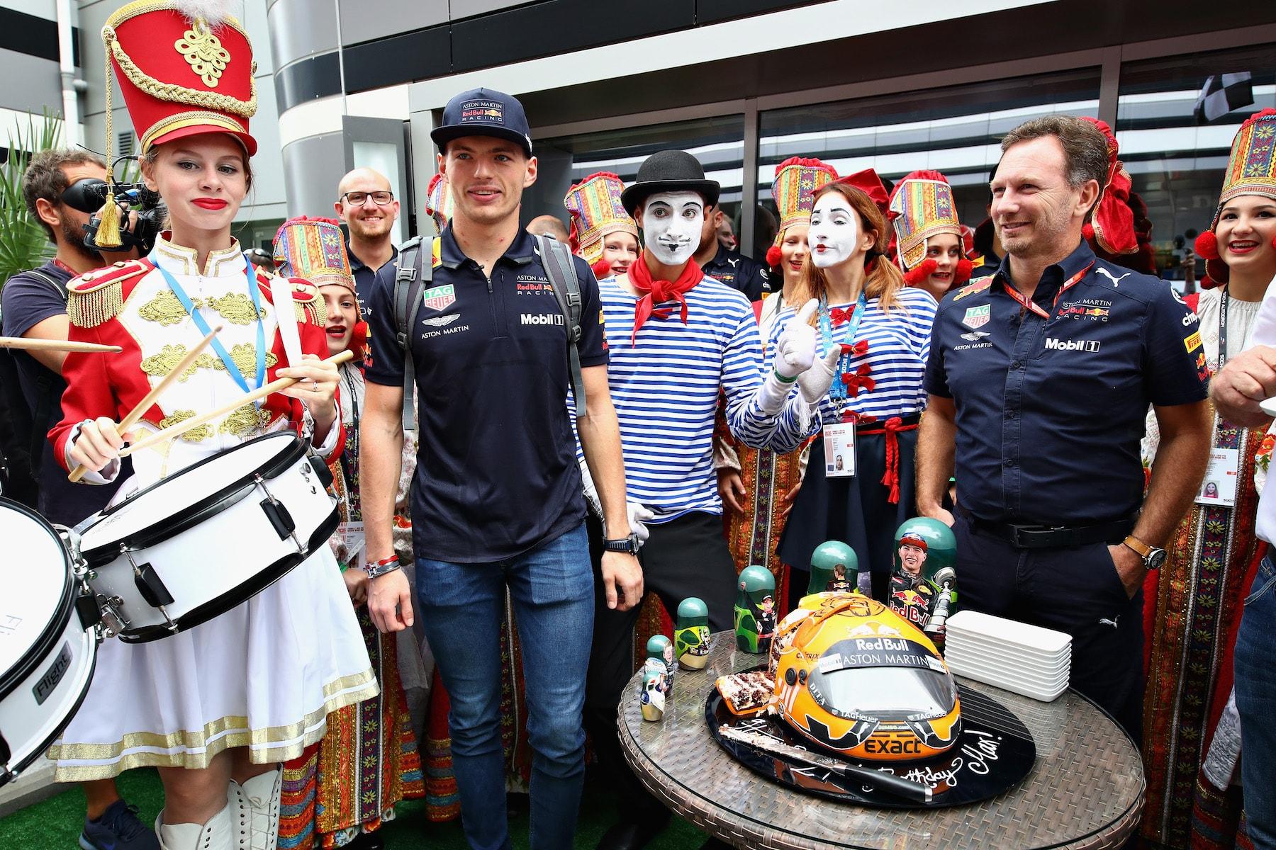 A 2018 Max Verstappen | Red Bull RB14 | 2018 Russian GP birthday 2 Photo by Mark Thompson copy.jpg
